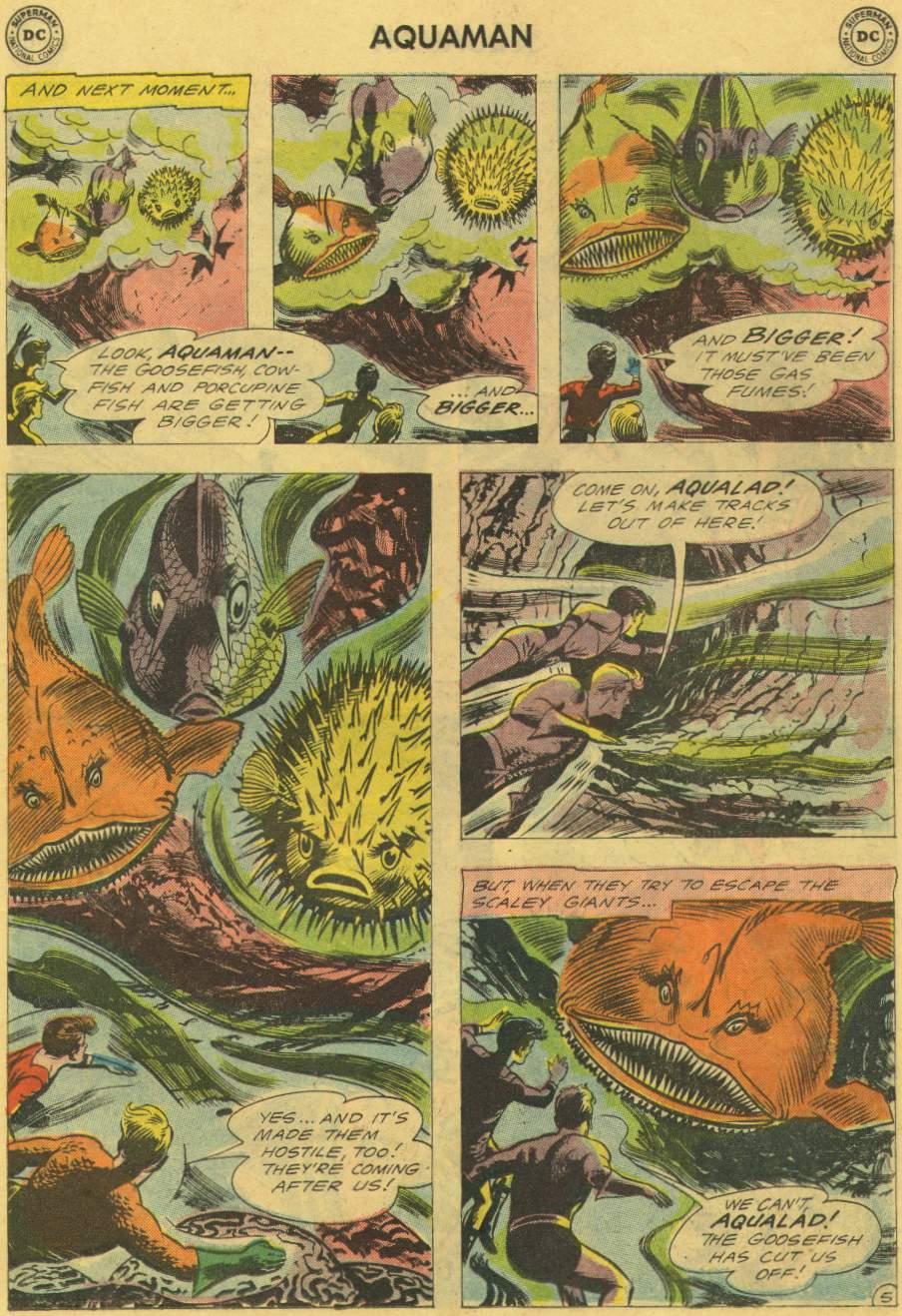 Read online Aquaman (1962) comic -  Issue #2 - 7