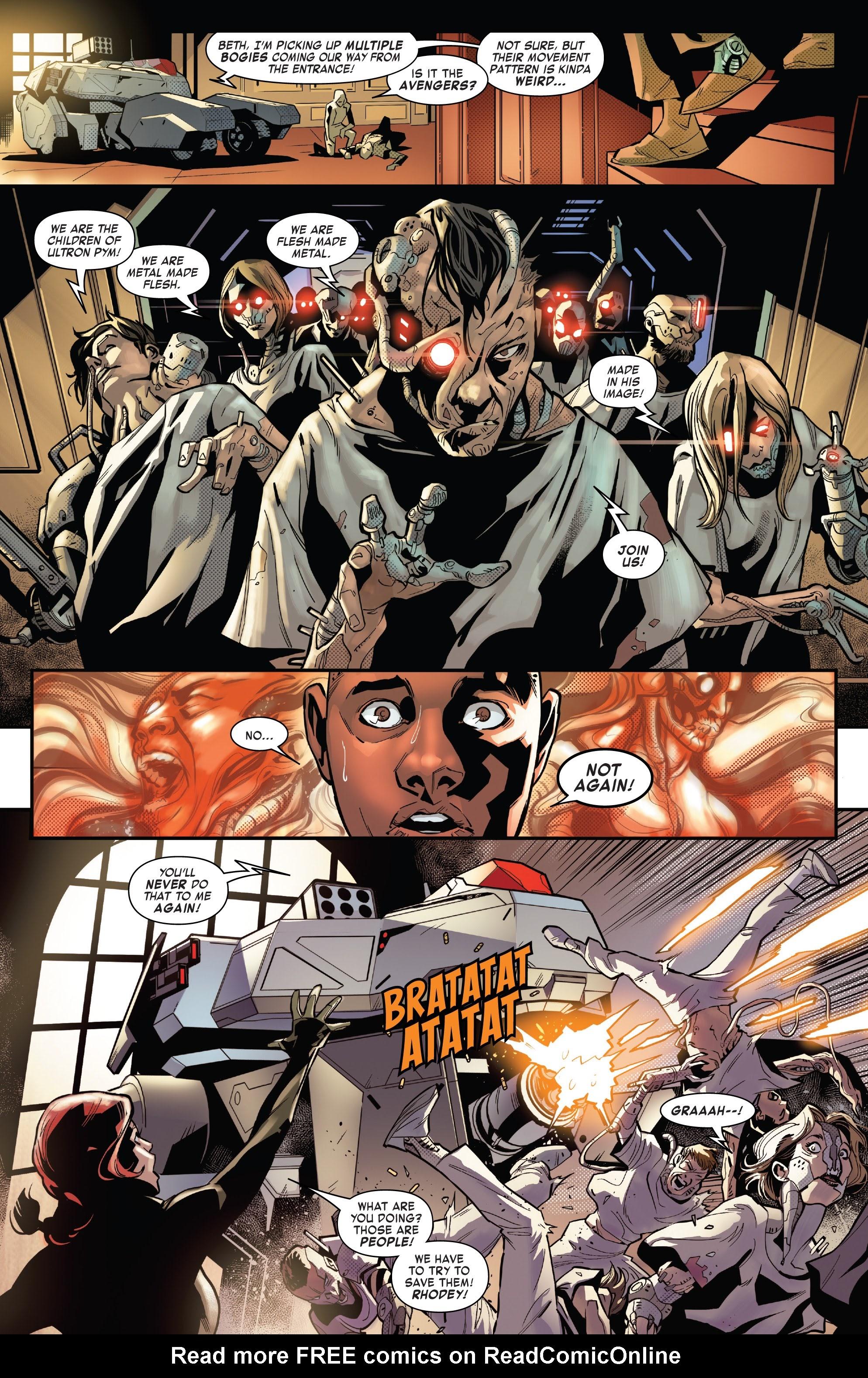 Read online Tony Stark: Iron Man comic -  Issue #16 - 17