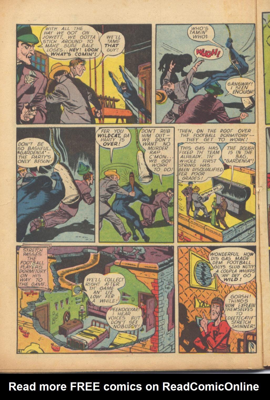 Read online Sensation (Mystery) Comics comic -  Issue #24 - 52