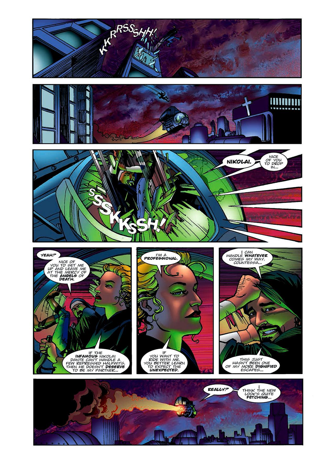 Read online Nikolai Dante comic -  Issue # TPB 6 - 30