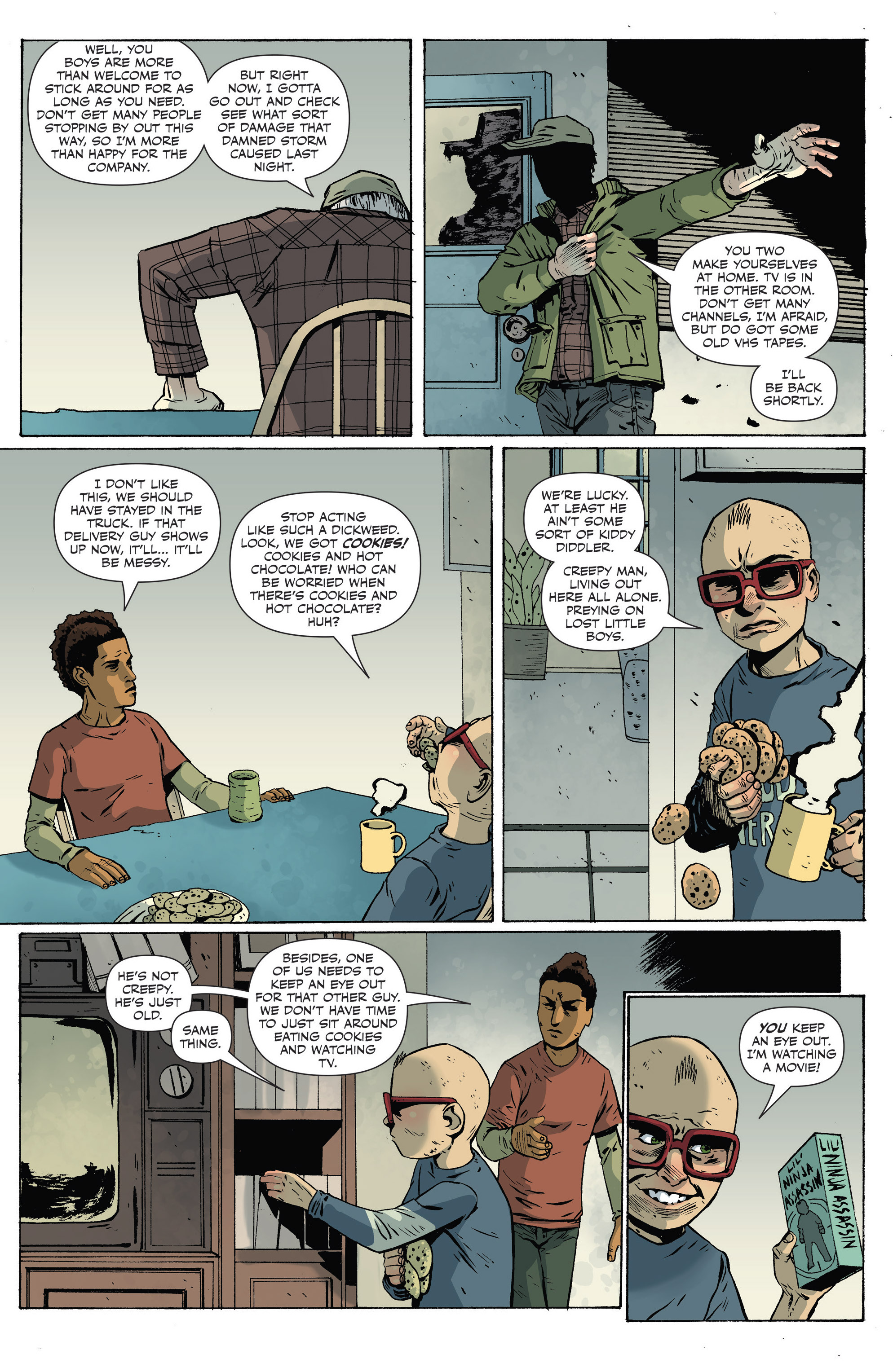 Read online Sheltered comic -  Issue #8 - 15