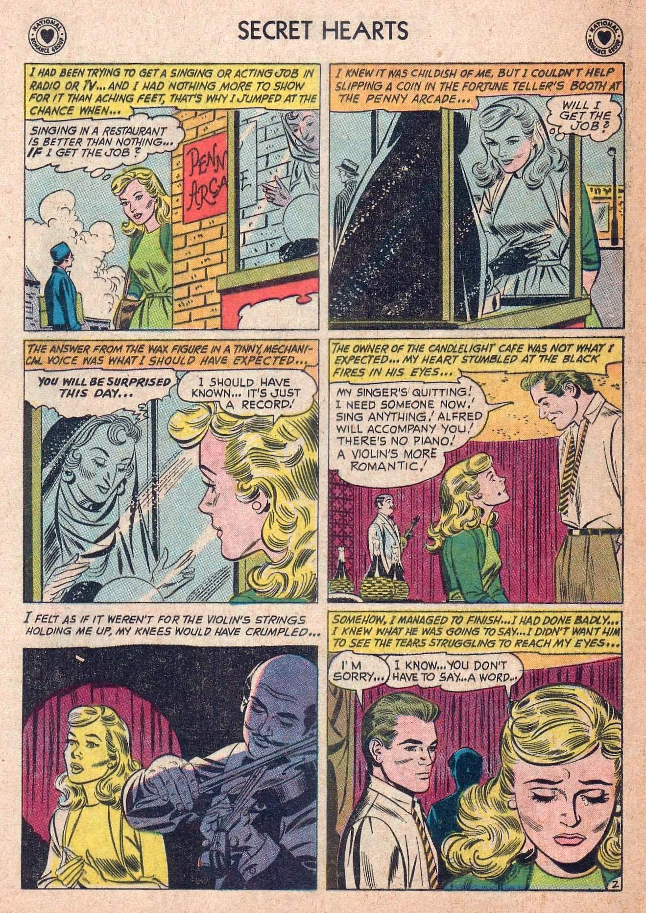 Read online Secret Hearts comic -  Issue #73 - 28