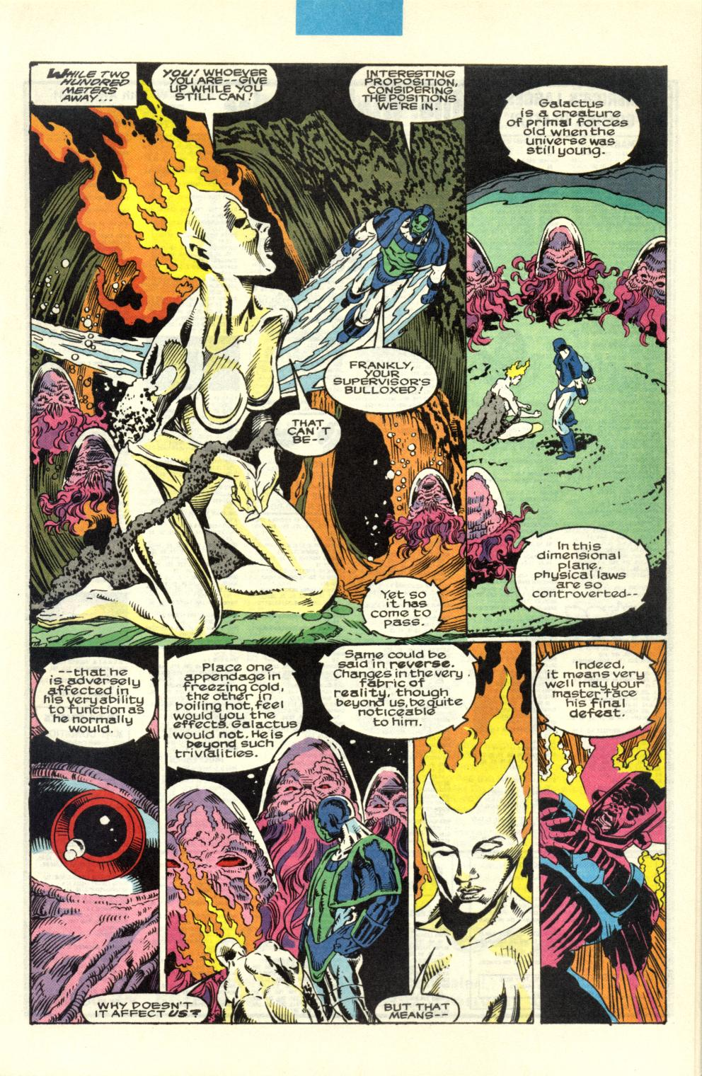 Read online Alpha Flight (1983) comic -  Issue #100 - 20
