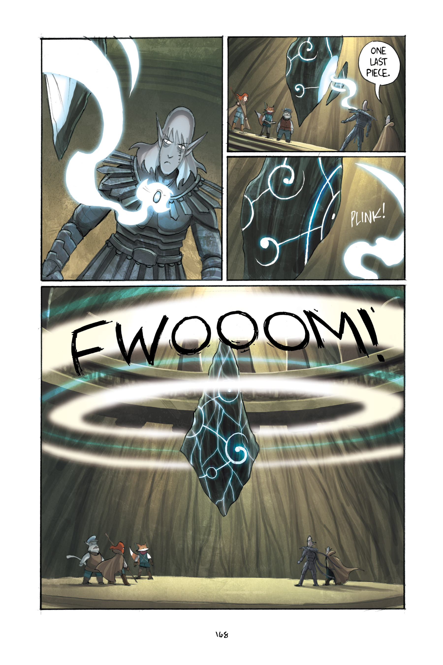 Read online Amulet comic -  Issue #3 - 164