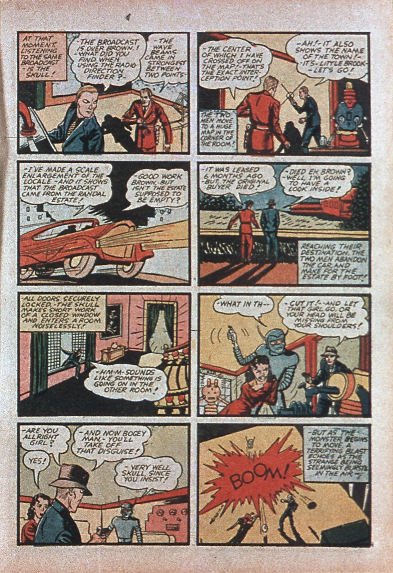 Read online Amazing Man Comics comic -  Issue #7 - 22