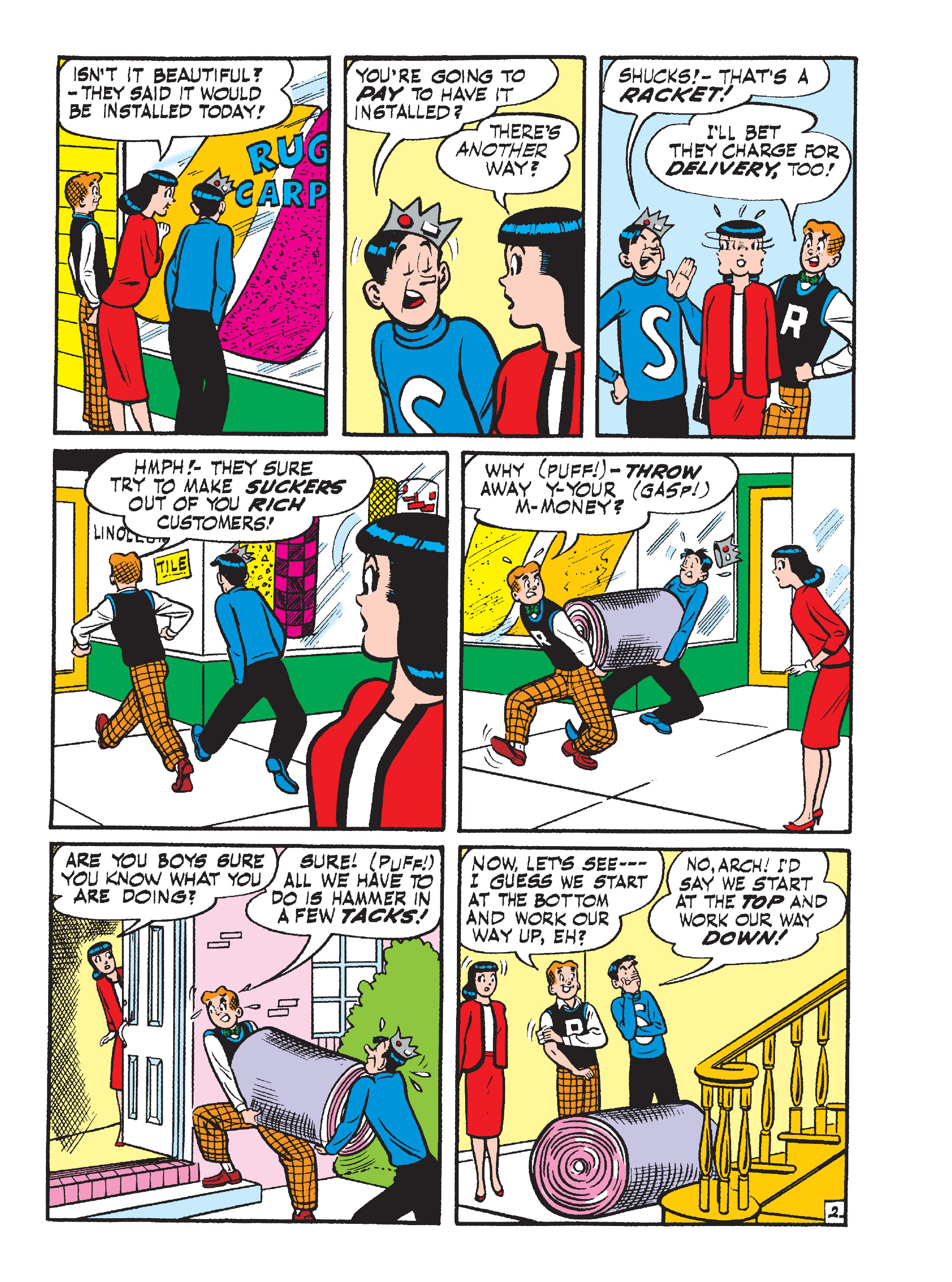 Read online World of Archie Double Digest comic -  Issue #55 - 141