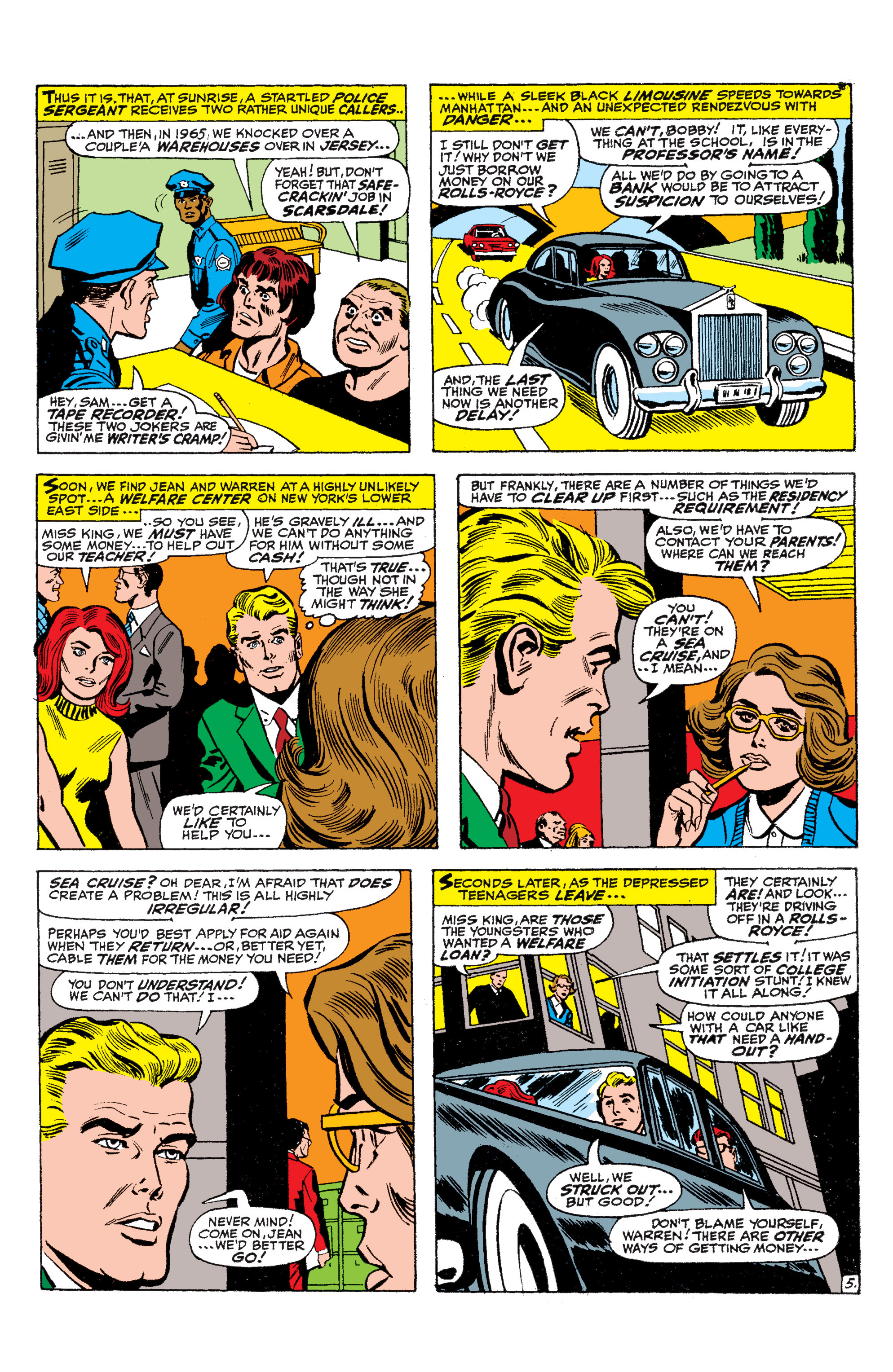 Read online Uncanny X-Men (1963) comic -  Issue #36 - 6