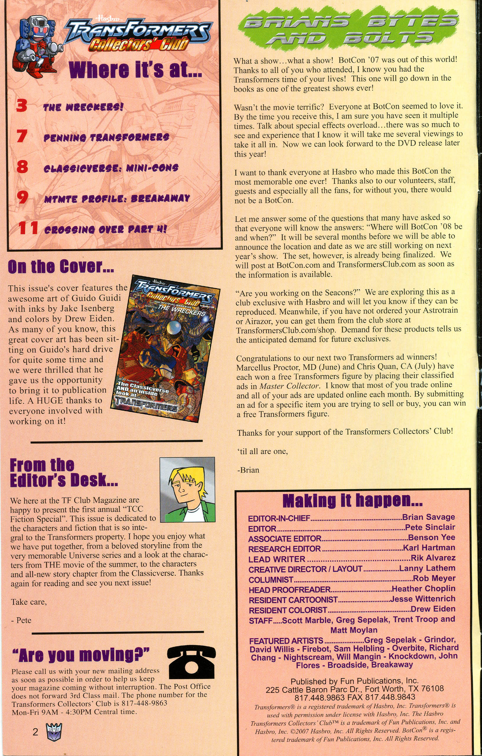 Read online Transformers: Collectors' Club comic -  Issue #16 - 2