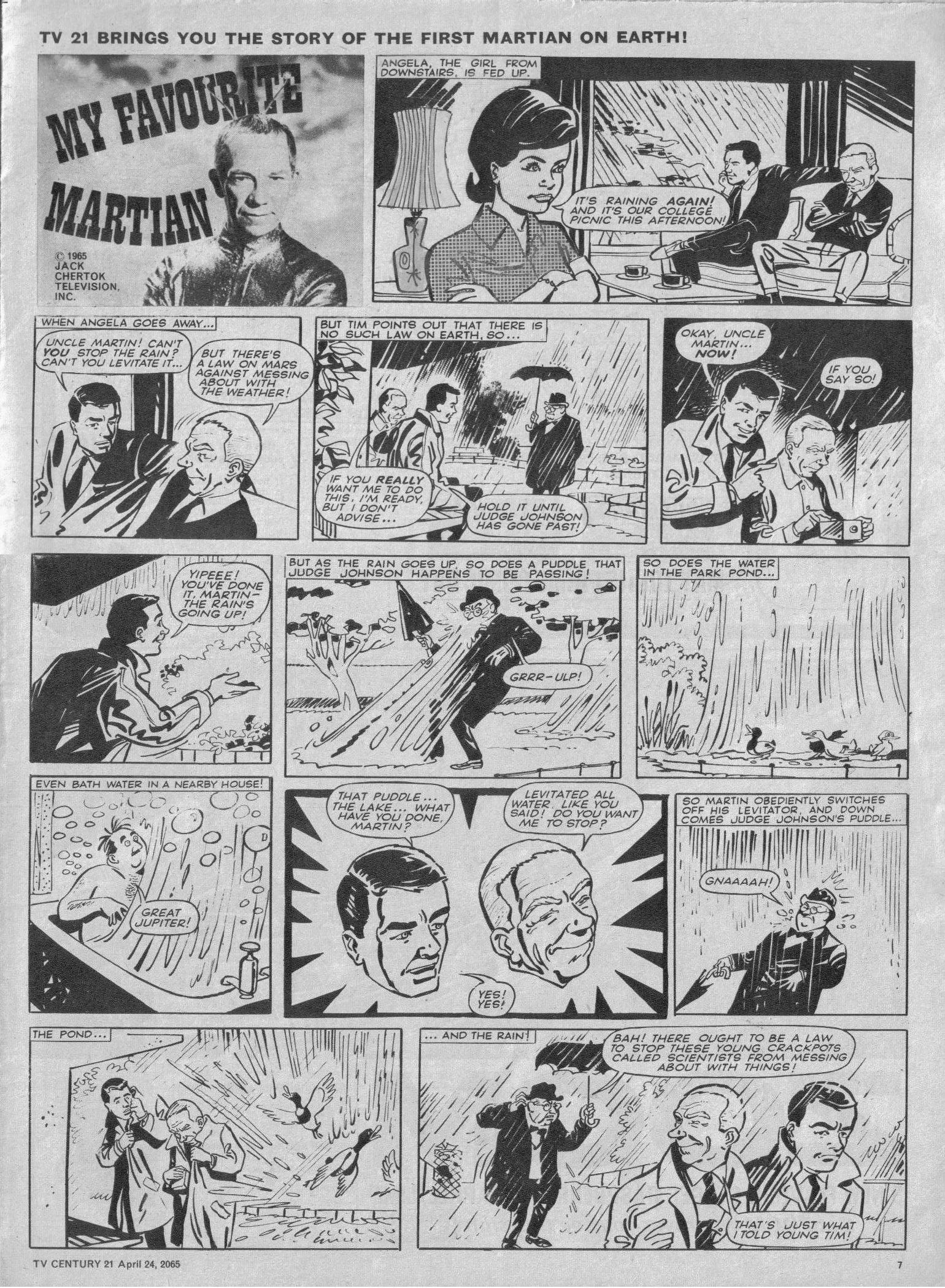 Read online TV Century 21 (TV 21) comic -  Issue #14 - 7