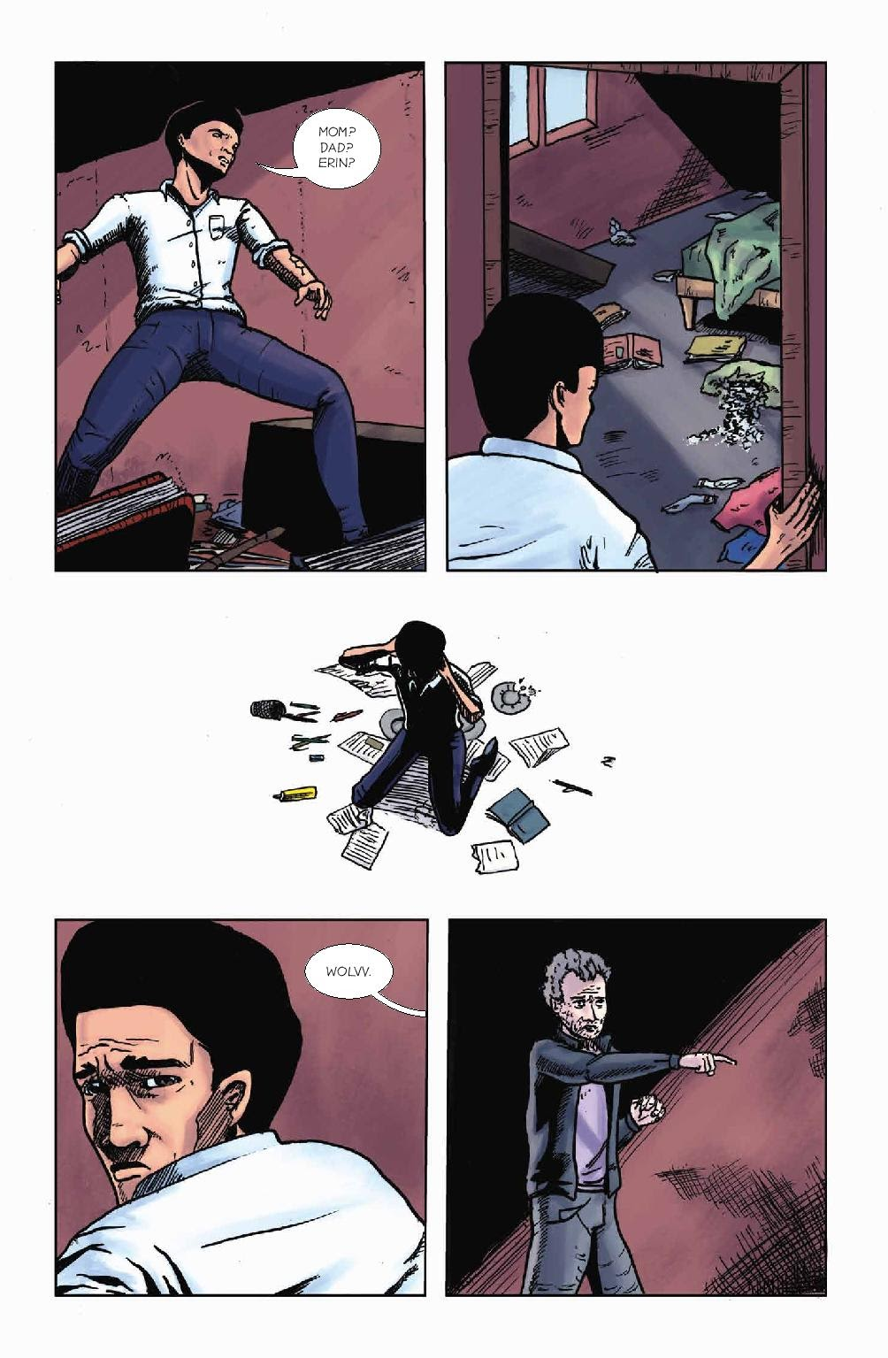 Read online Wolvv comic -  Issue #1 - 25