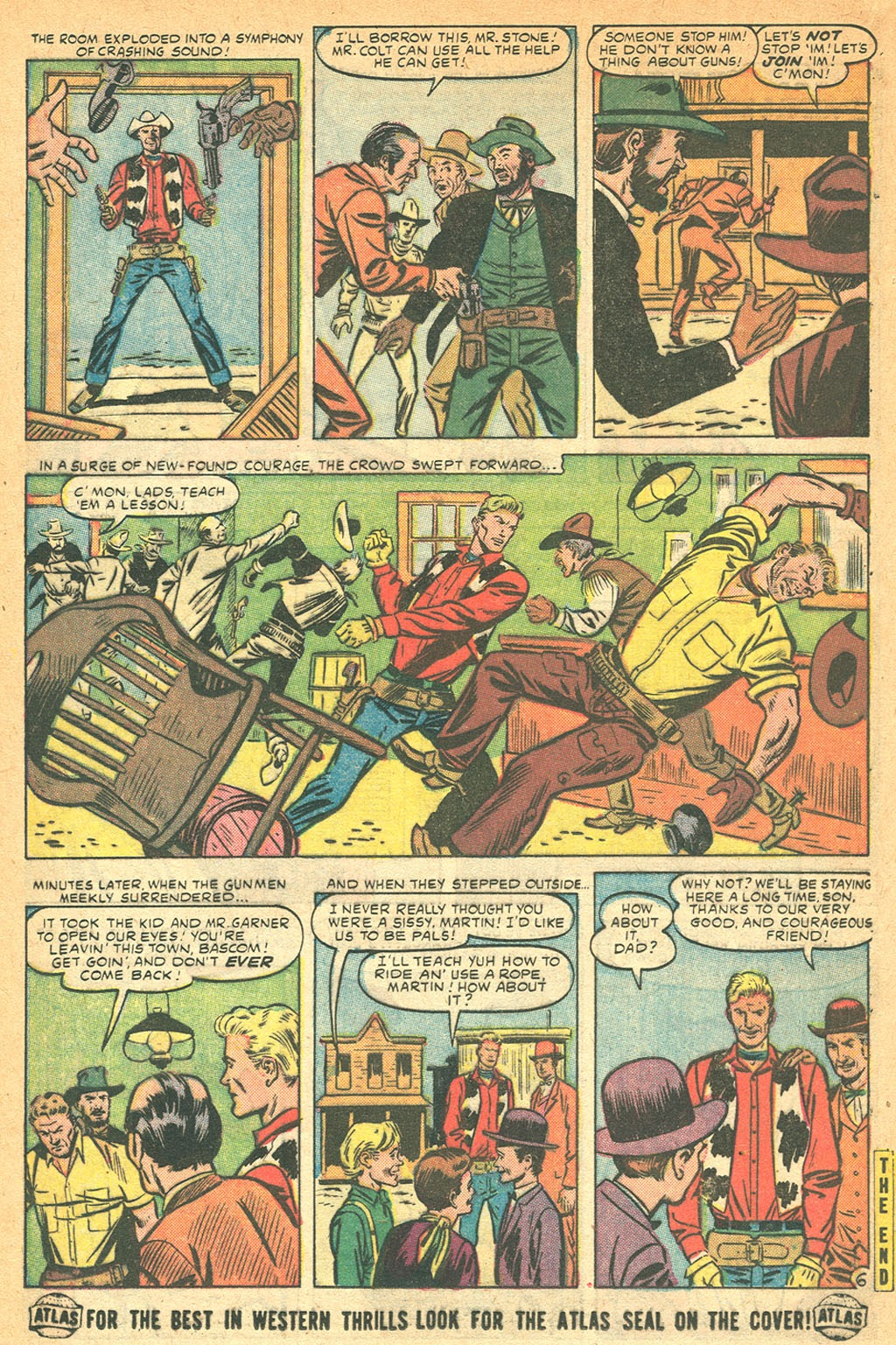 Kid Colt Outlaw issue 53 - Page 16