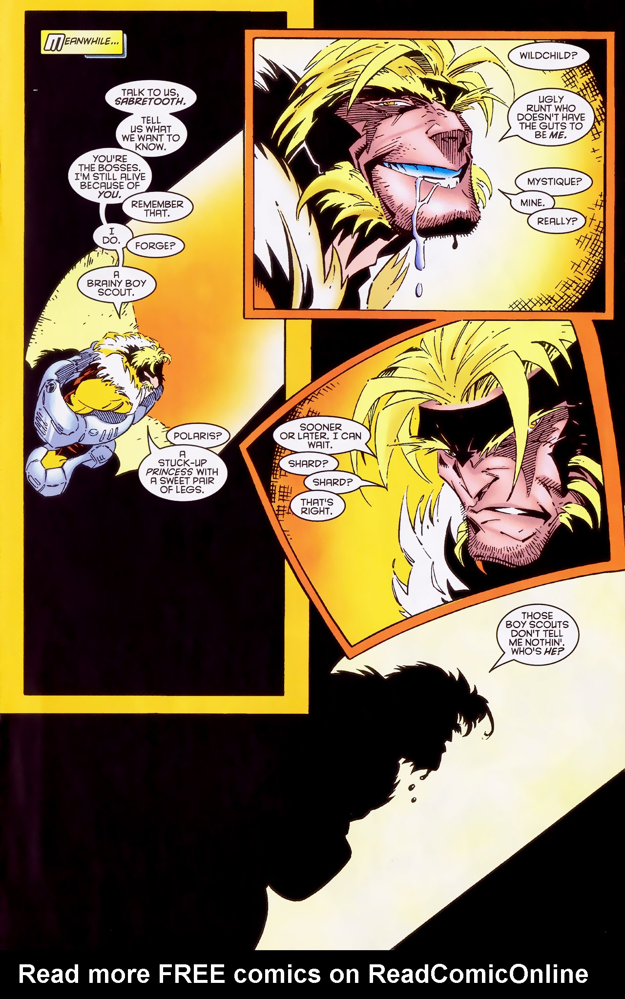 Read online X-Factor (1986) comic -  Issue #127 - 21