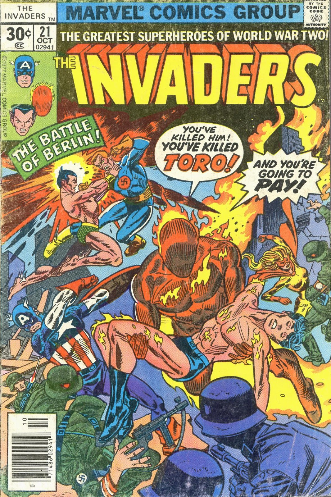 The Invaders (1975) issue 21 - Page 1