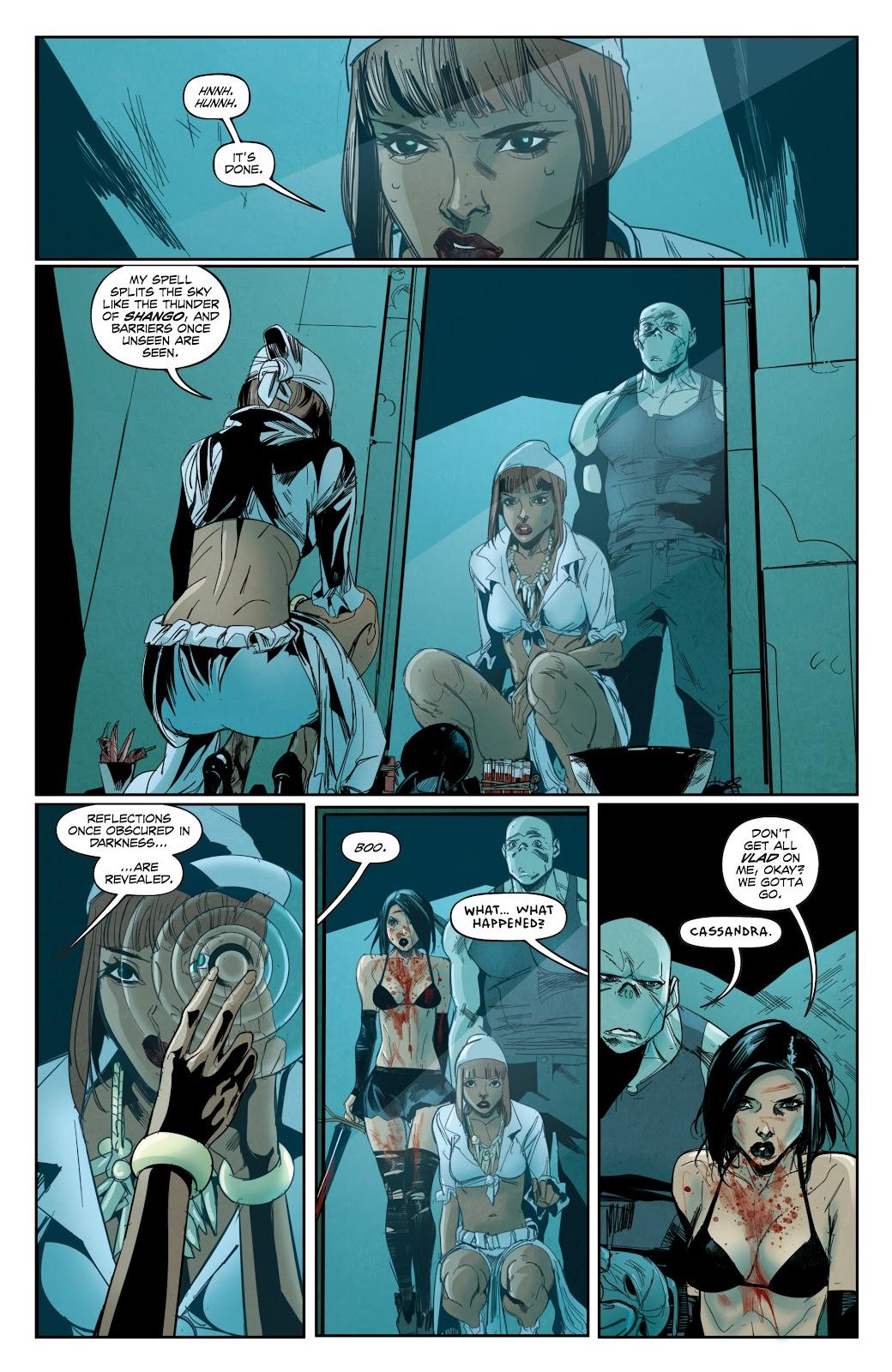 Read online Hack/Slash vs. Chaos comic -  Issue #3 - 21