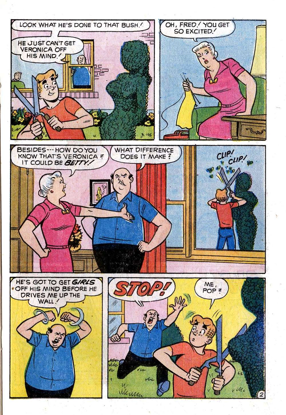 Read online Archie (1960) comic -  Issue #222 - 21
