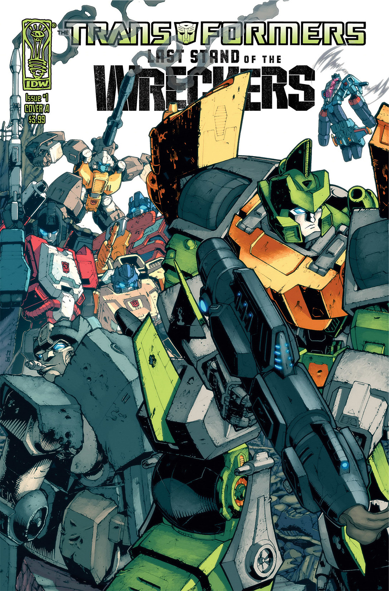 Read online Transformers: Last Stand of The Wreckers comic -  Issue #1 - 5