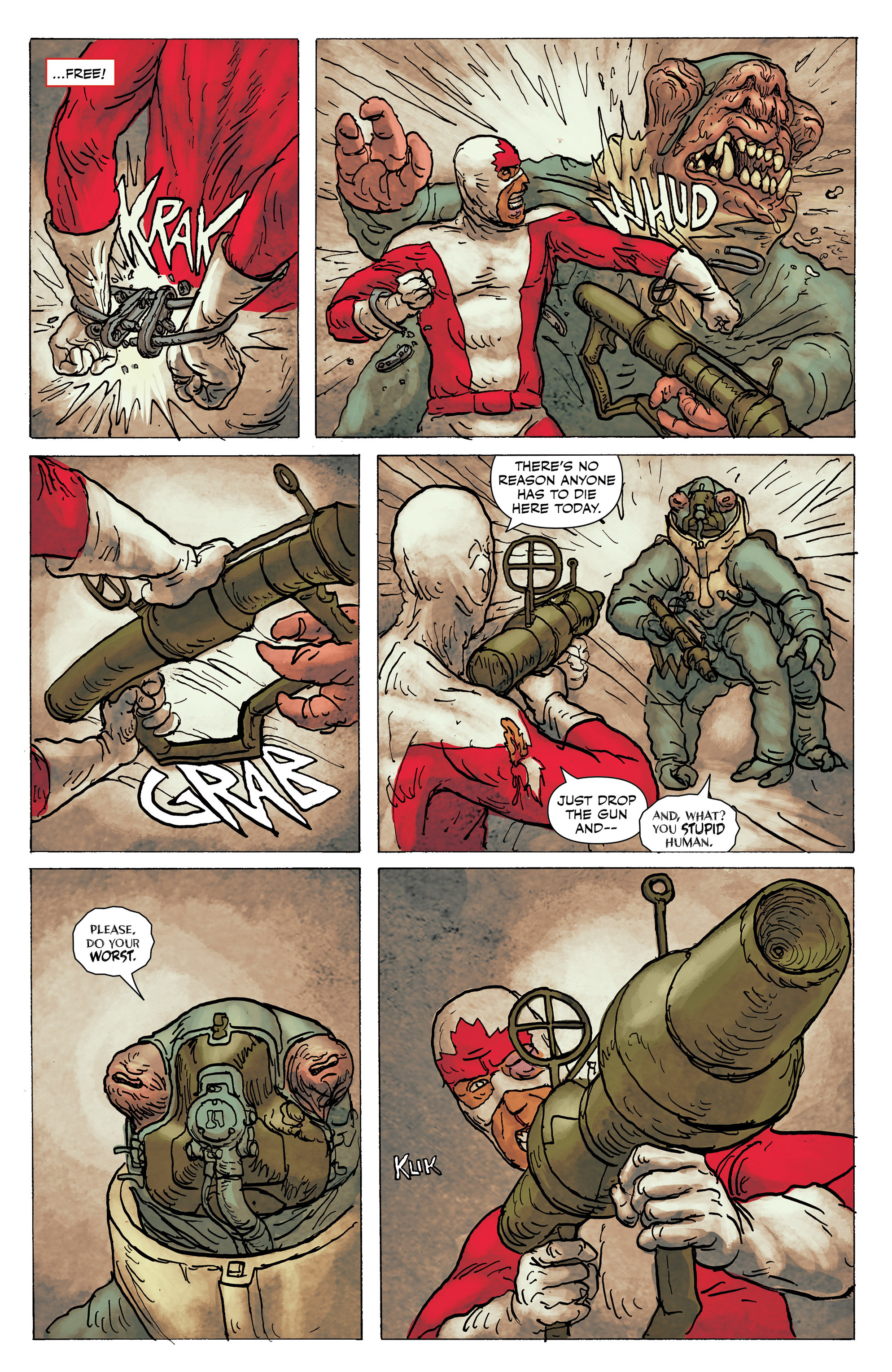Read online All-New Classic Captain Canuck comic -  Issue #0 - 36