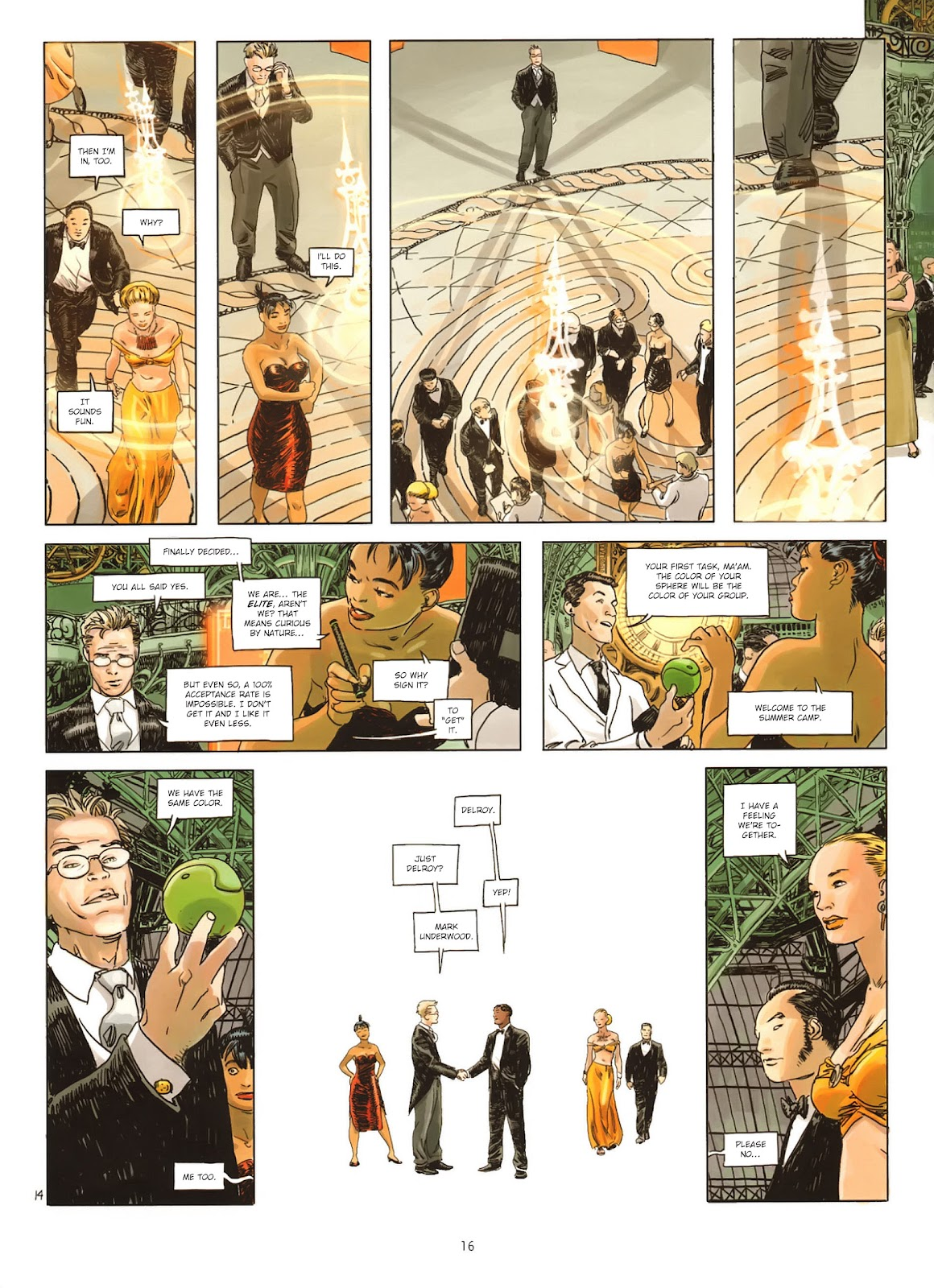 Read online Cutting Edge (2013) comic -  Issue #1 - 15