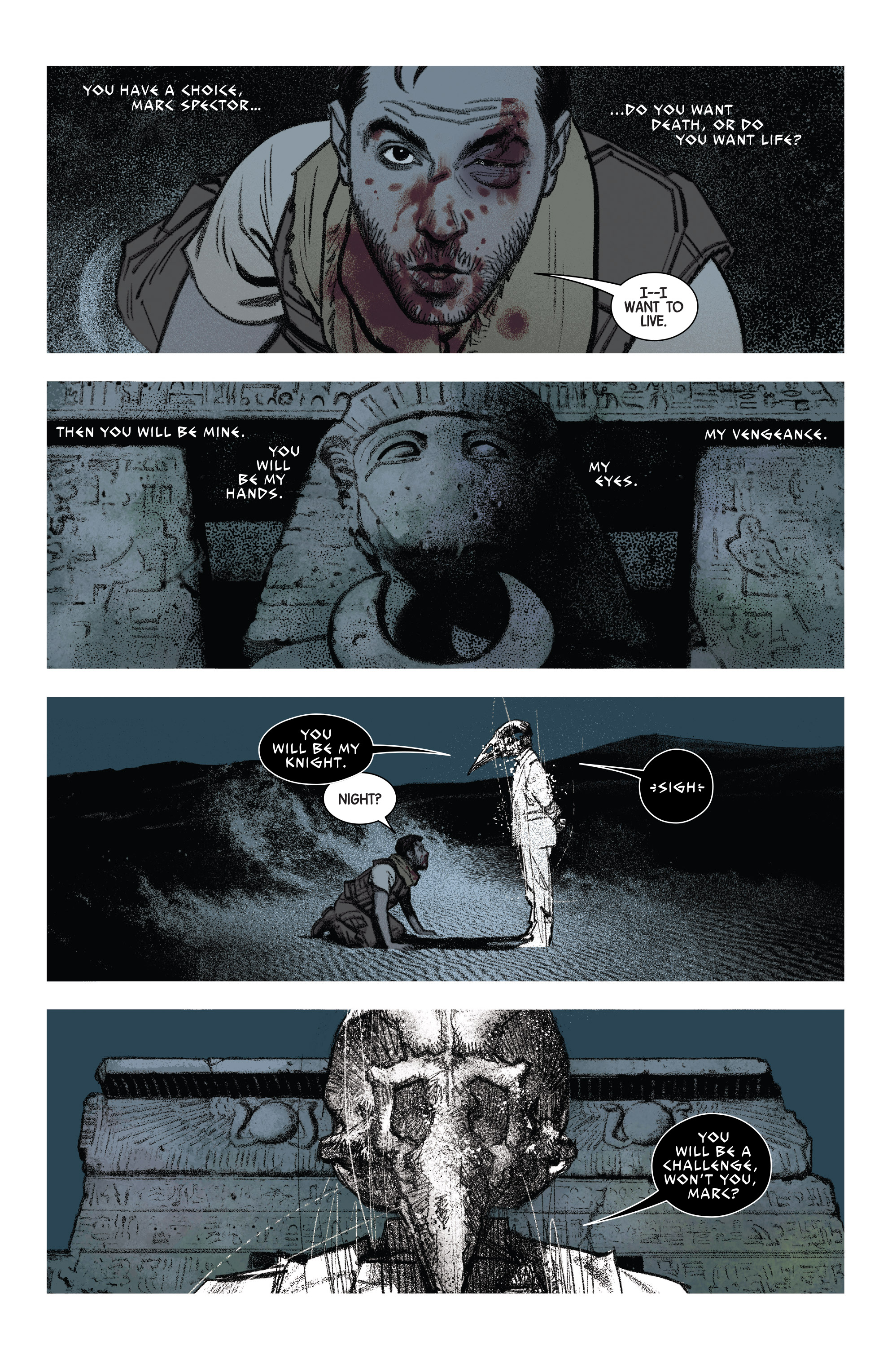 Read online Moon Knight (2016) comic -  Issue #14 - 6