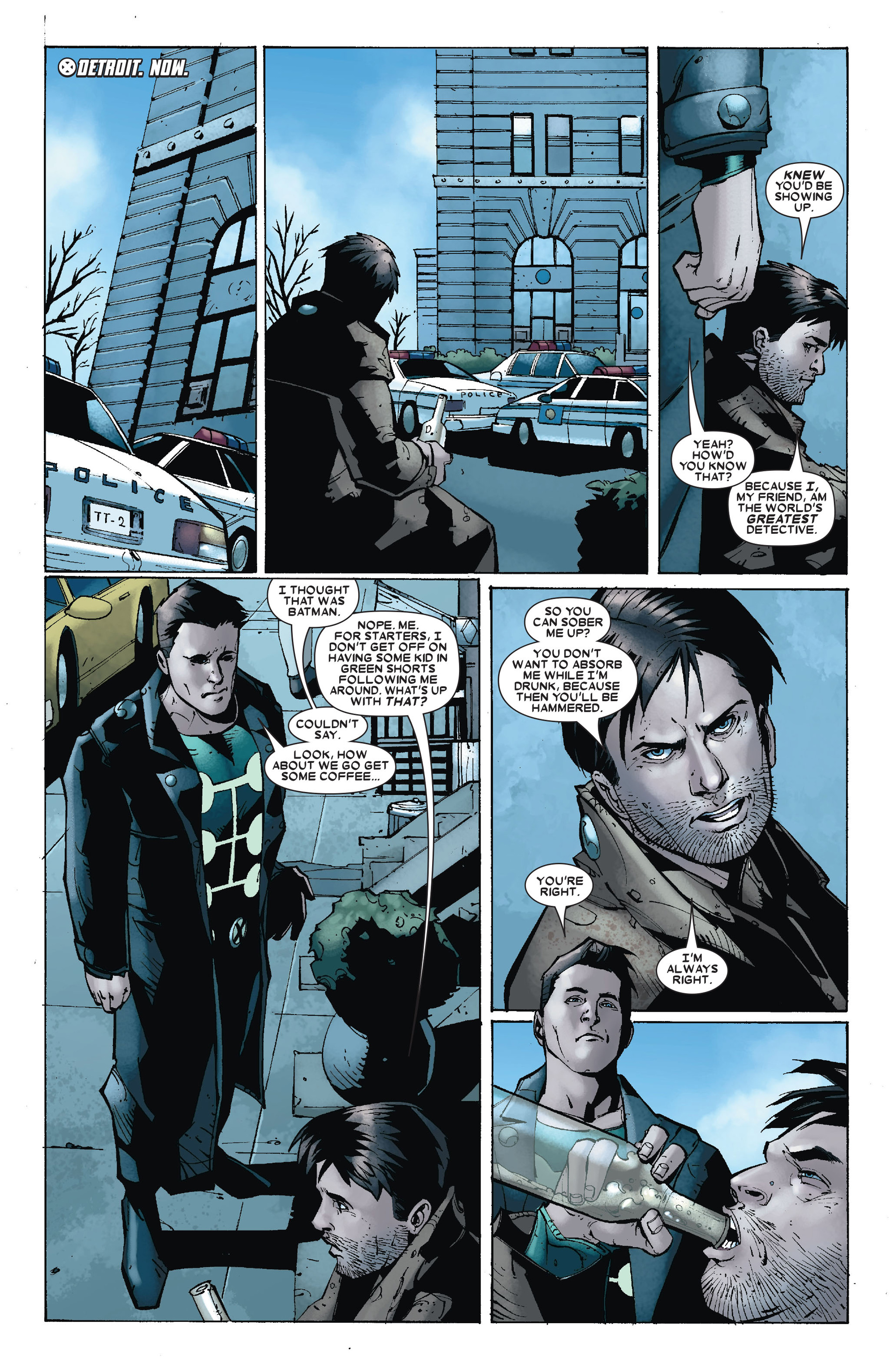 Read online X-Factor (2006) comic -  Issue #17 - 6