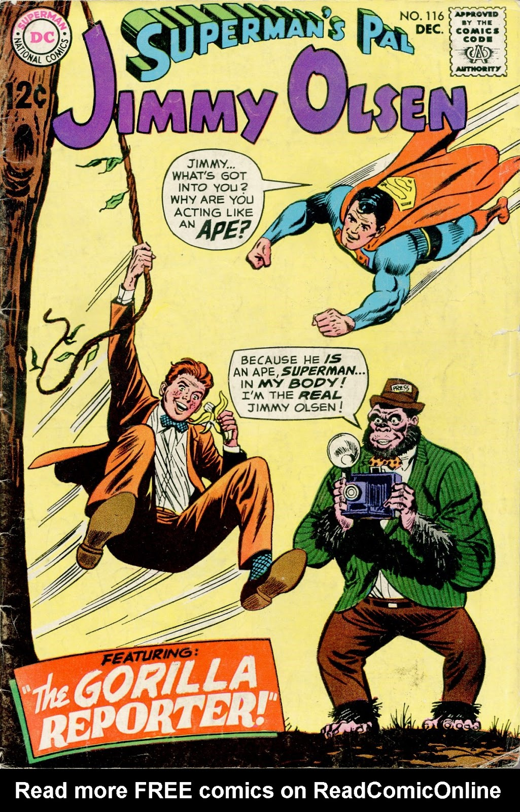 Supermans Pal Jimmy Olsen (1954) 116 Page 1