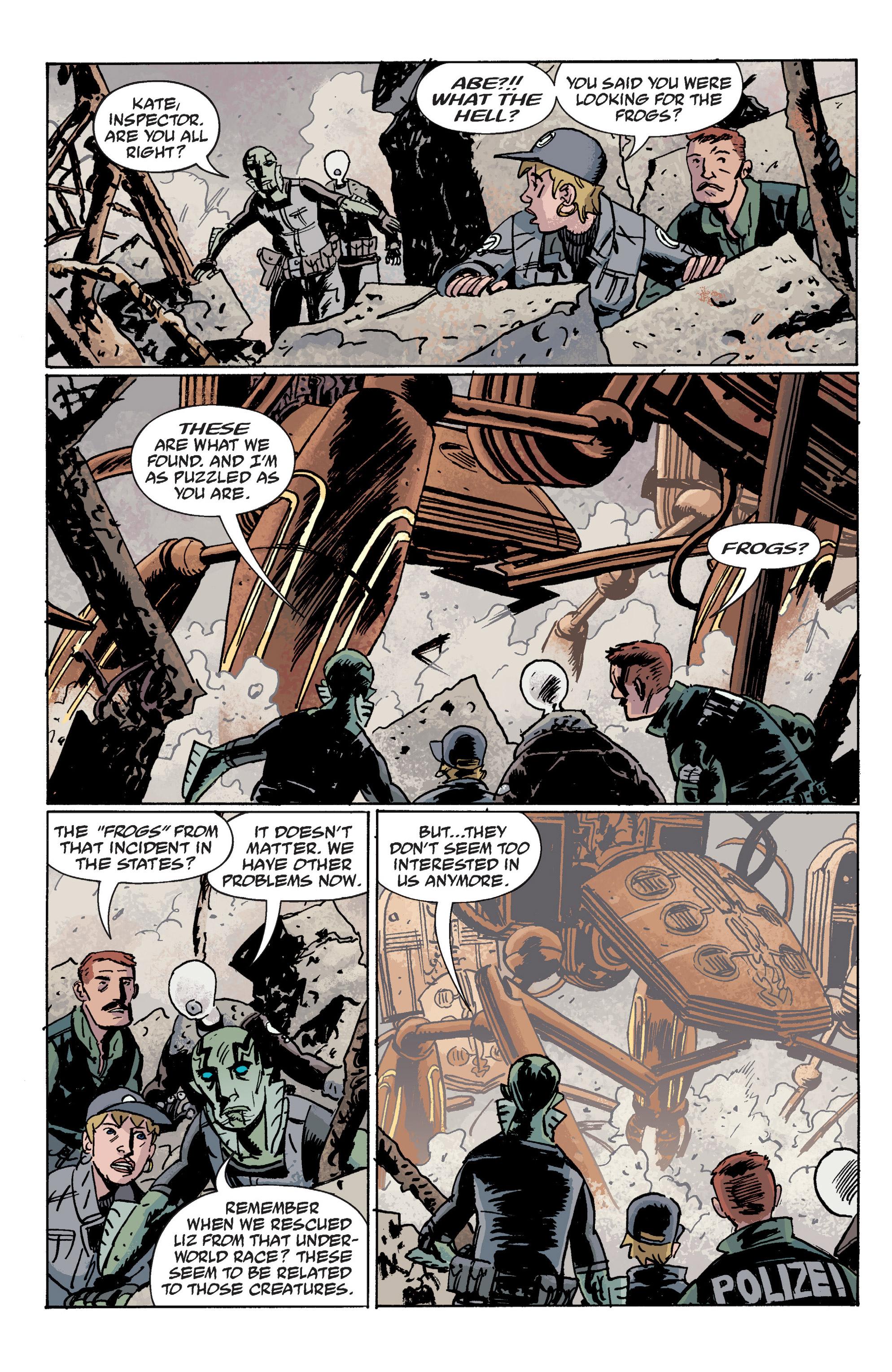 Read online B.P.R.D. (2003) comic -  Issue # TPB 10 - 87