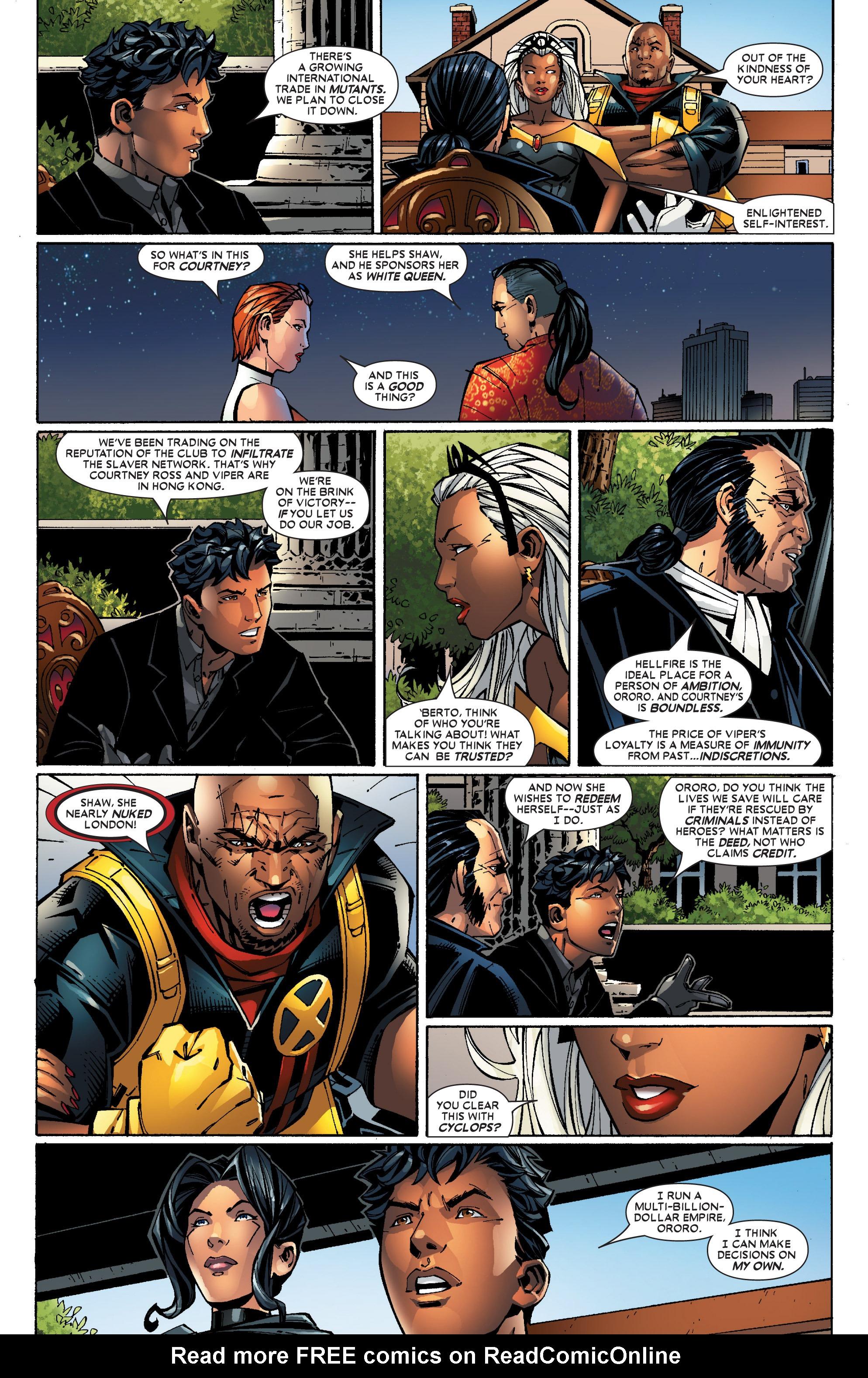 Read online Uncanny X-Men (1963) comic -  Issue #453 - 21
