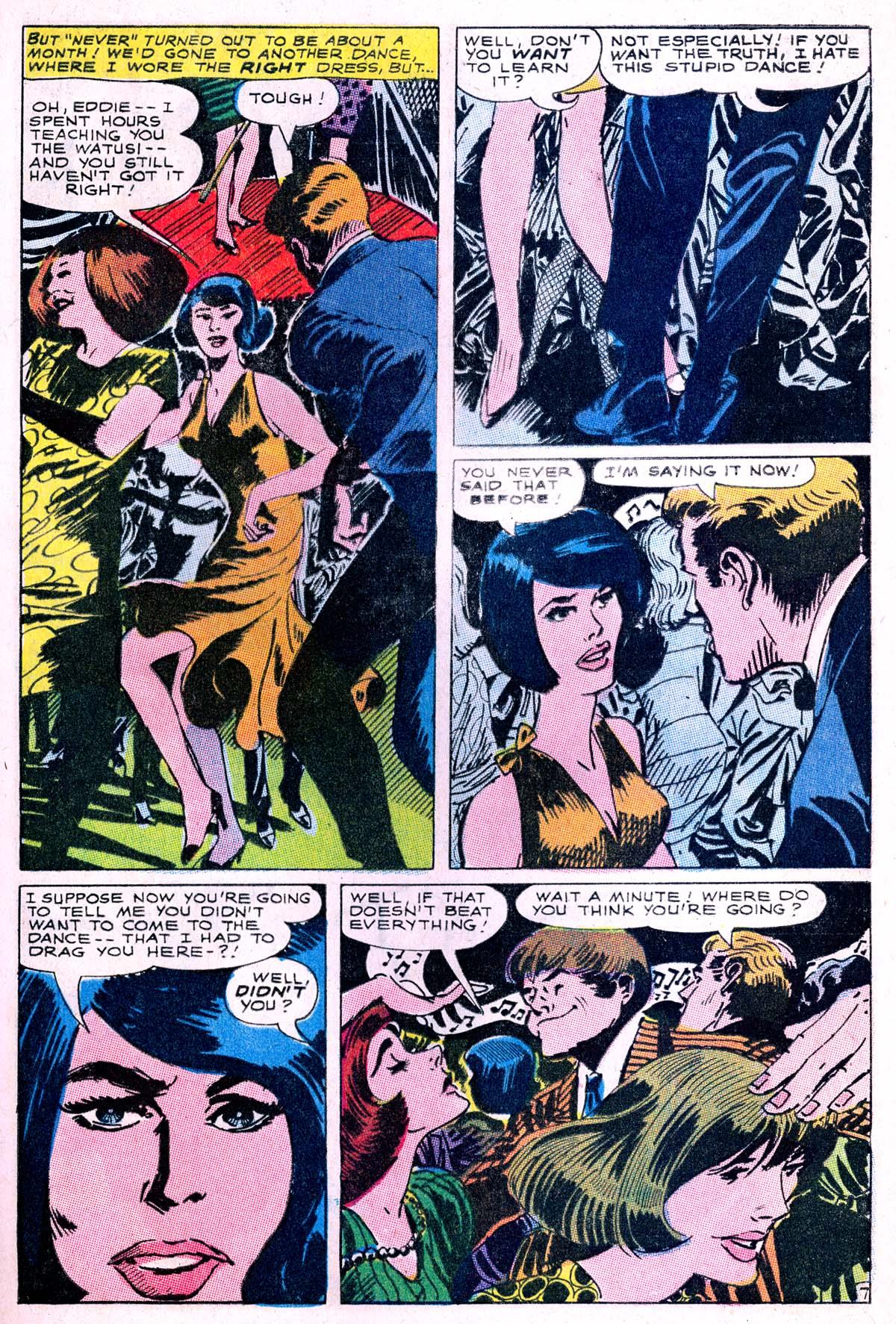 Read online Secret Hearts comic -  Issue #114 - 9