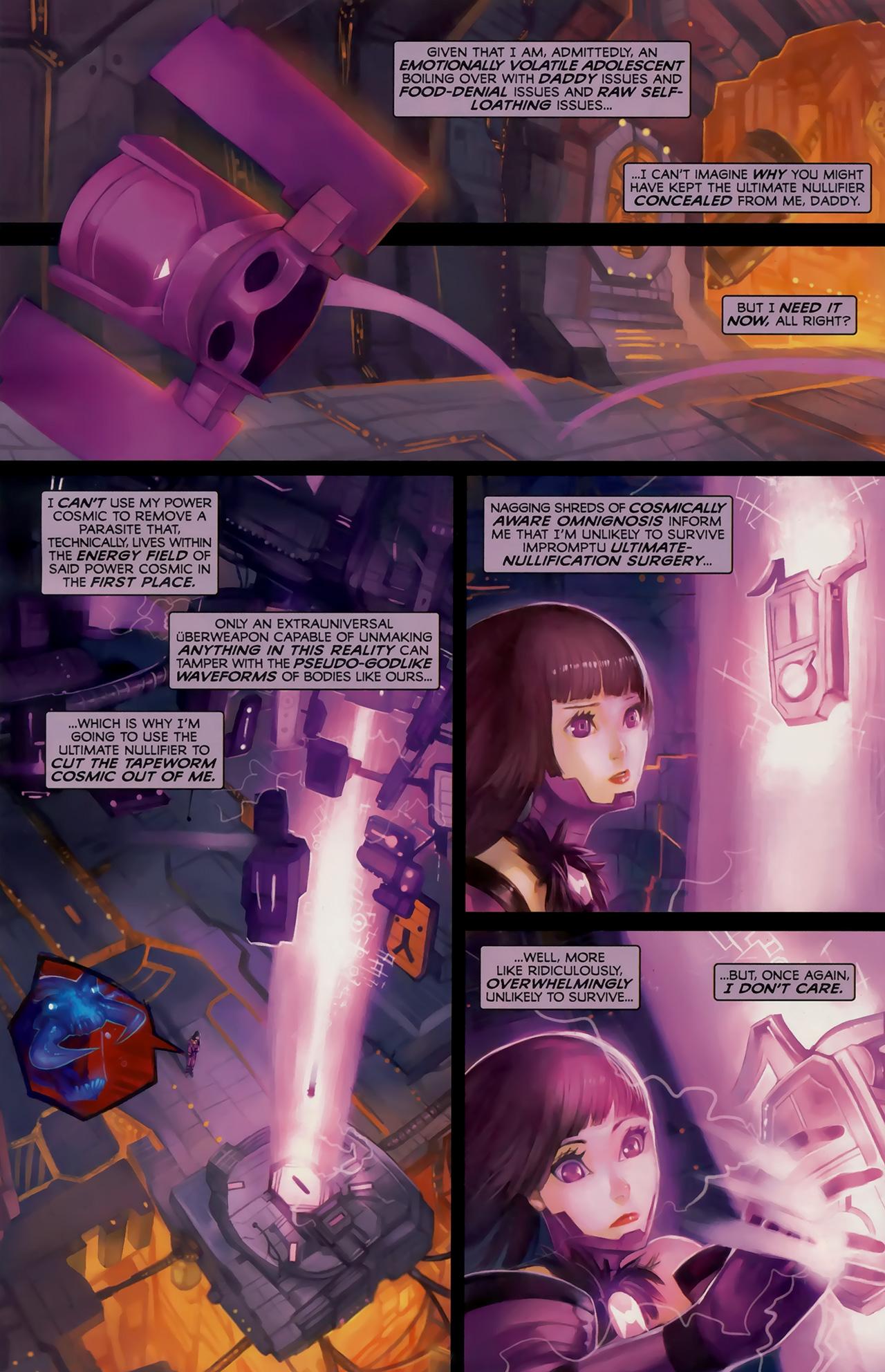 Read online Galacta: Daughter of Galactus comic -  Issue # Full - 29