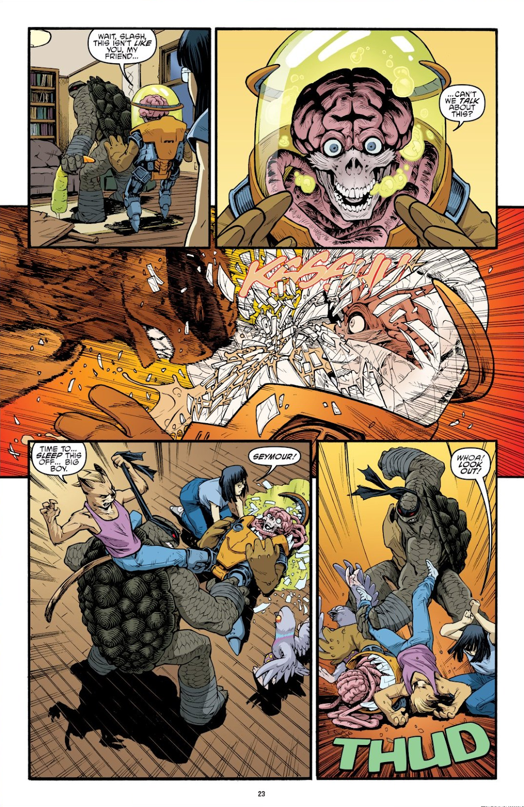 Read online Teenage Mutant Ninja Turtles: The IDW Collection comic -  Issue # TPB 9 (Part 1) - 24