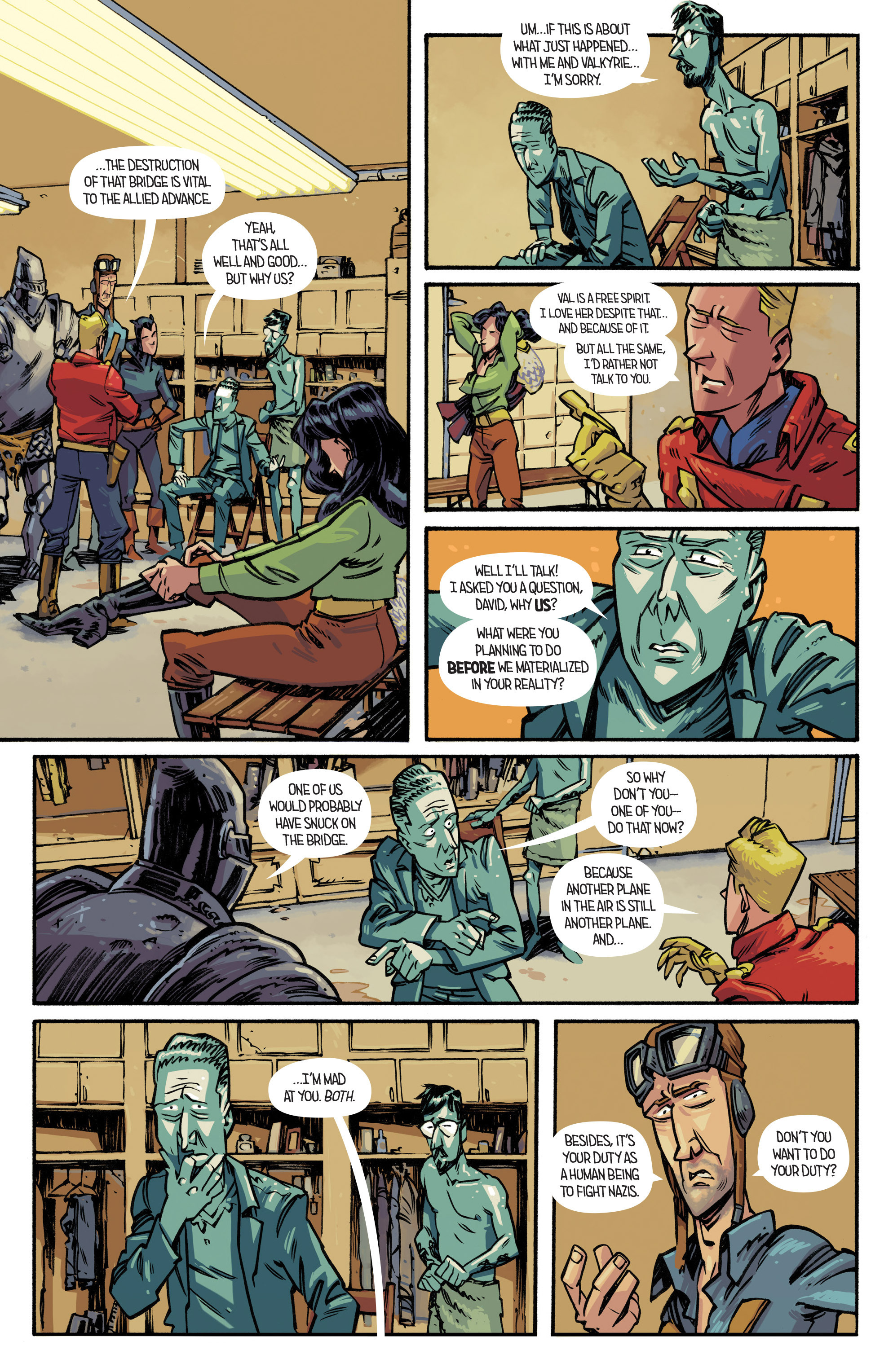 Read online Airboy comic -  Issue #4 - 5