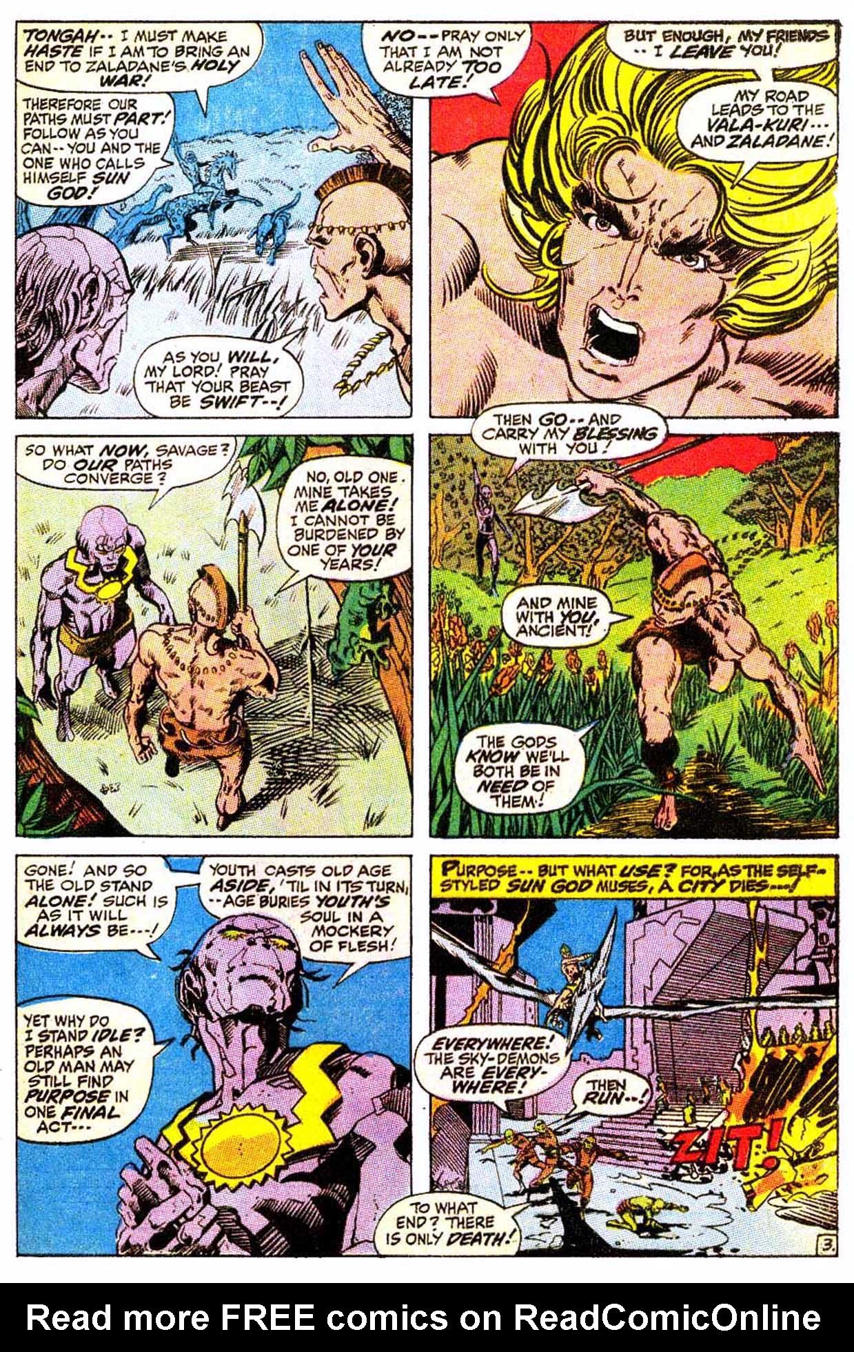 Read online Astonishing Tales (1970) comic -  Issue #4 - 14