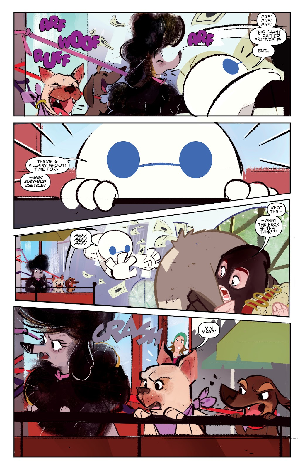 Read online Big Hero 6: The Series comic -  Issue #1 - 21