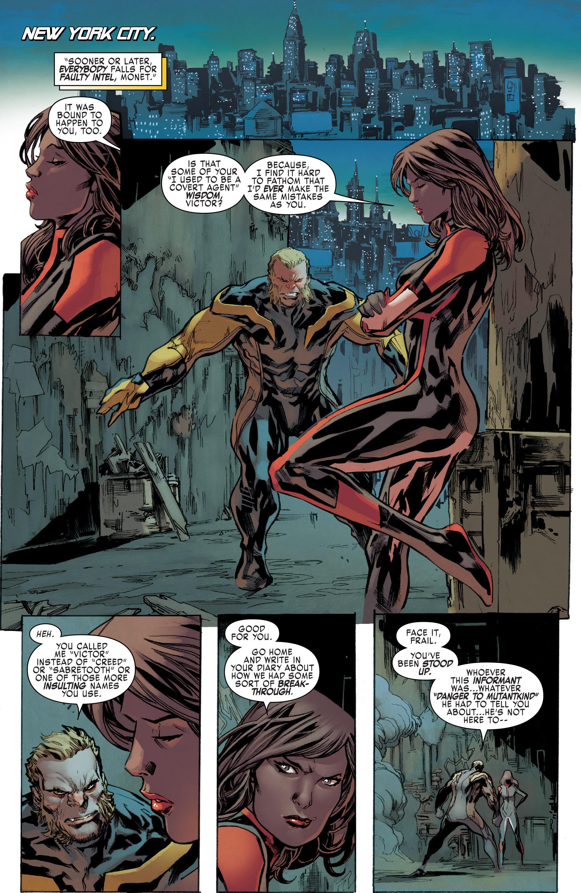 Read online Uncanny X-Men (2016) comic -  Issue #6 - 11