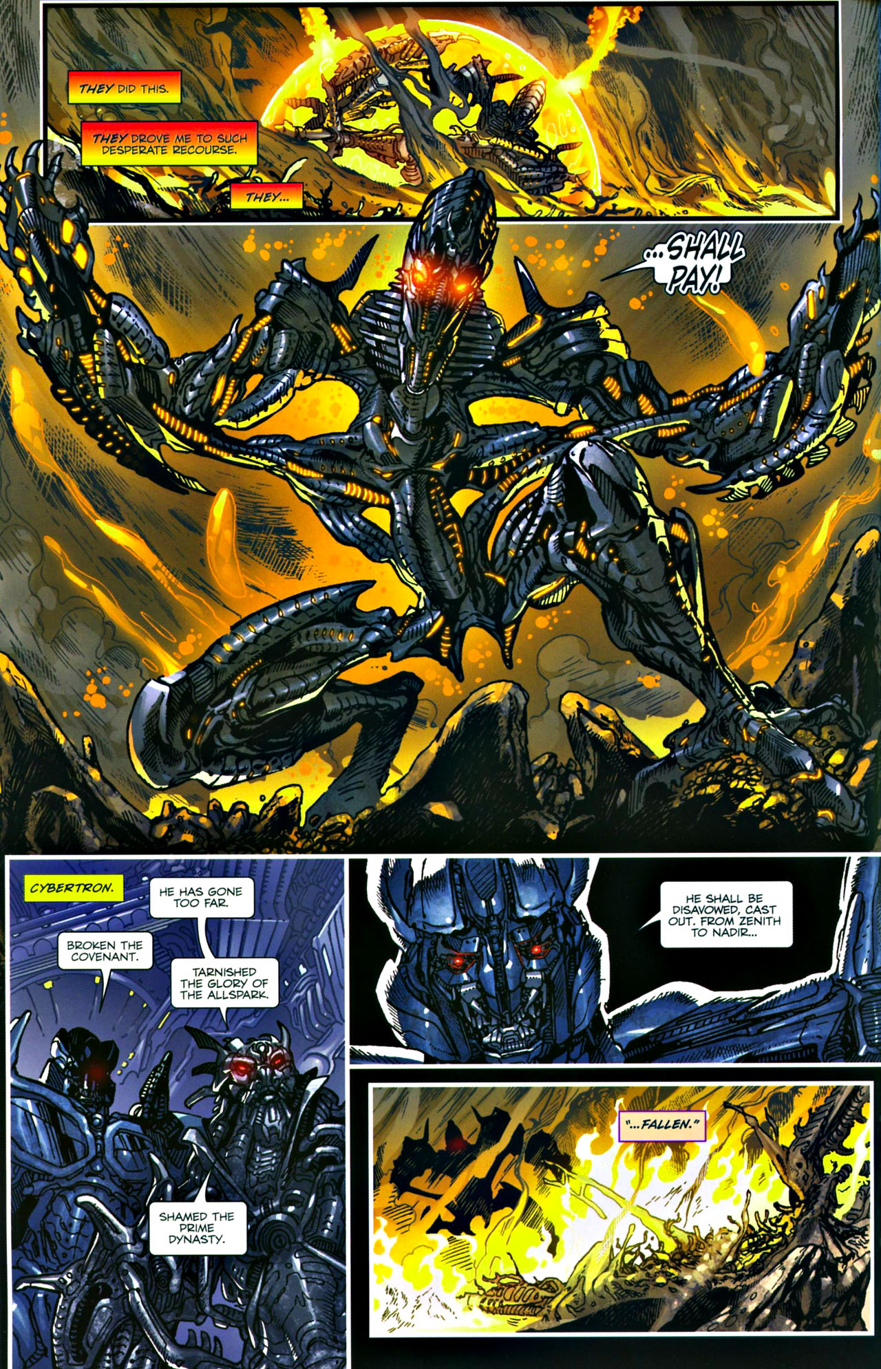 Read online Transformers: Tales of The Fallen comic -  Issue #4 - 9