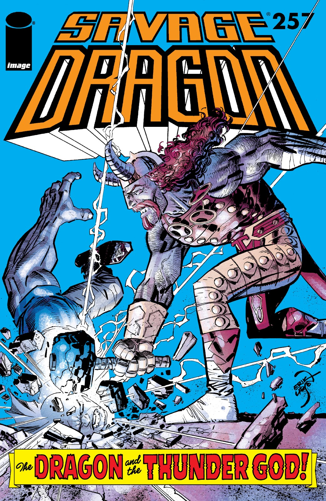 The Savage Dragon (1993) issue 257 - Page 1