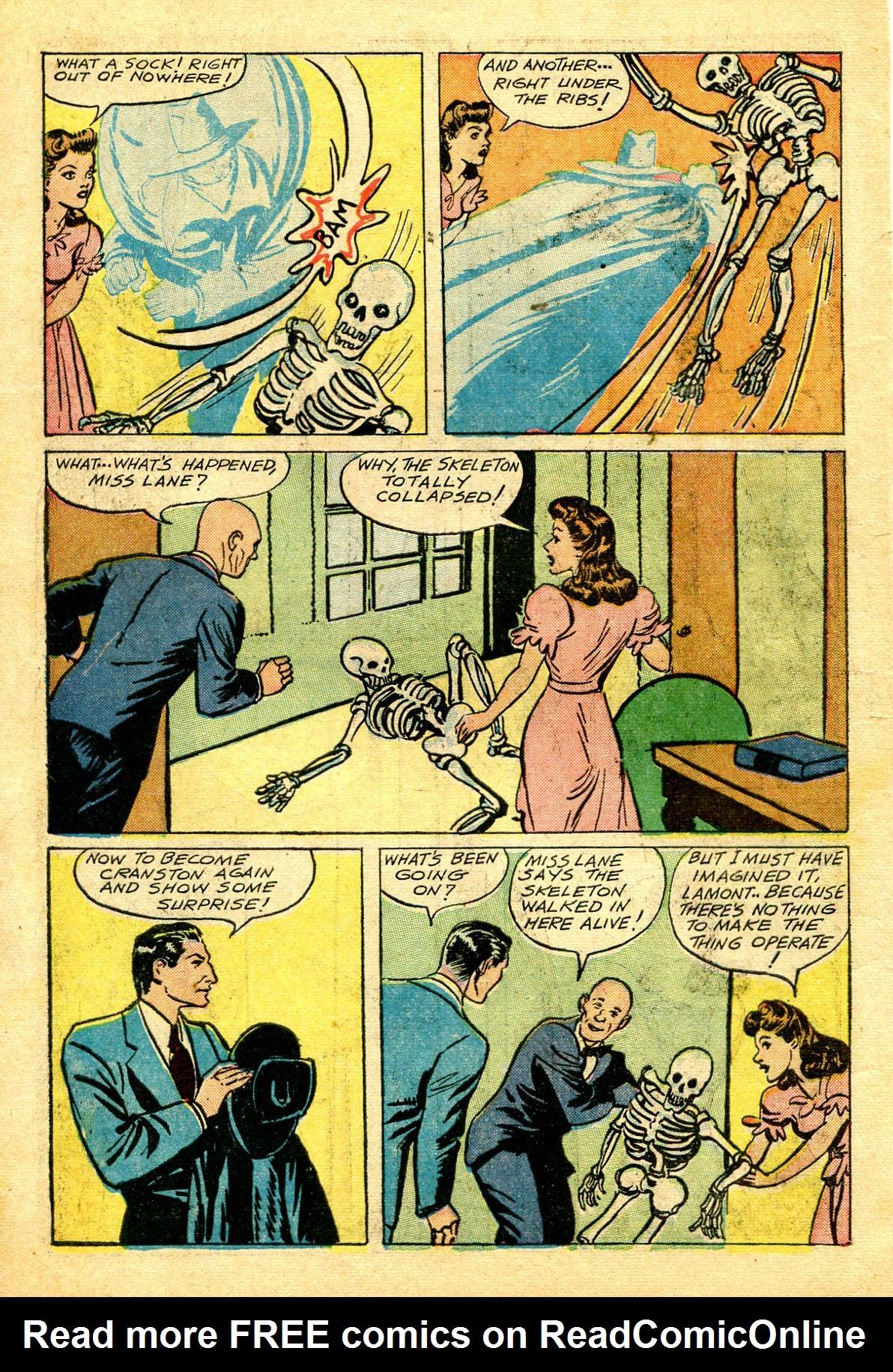 Read online Shadow Comics comic -  Issue #43 - 10