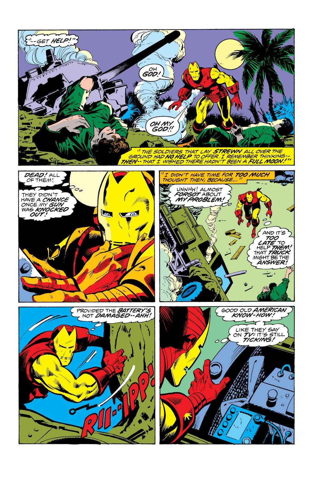 Read online Marvel Masterworks: The Invincible Iron Man comic -  Issue # TPB 10 (Part 2) - 84