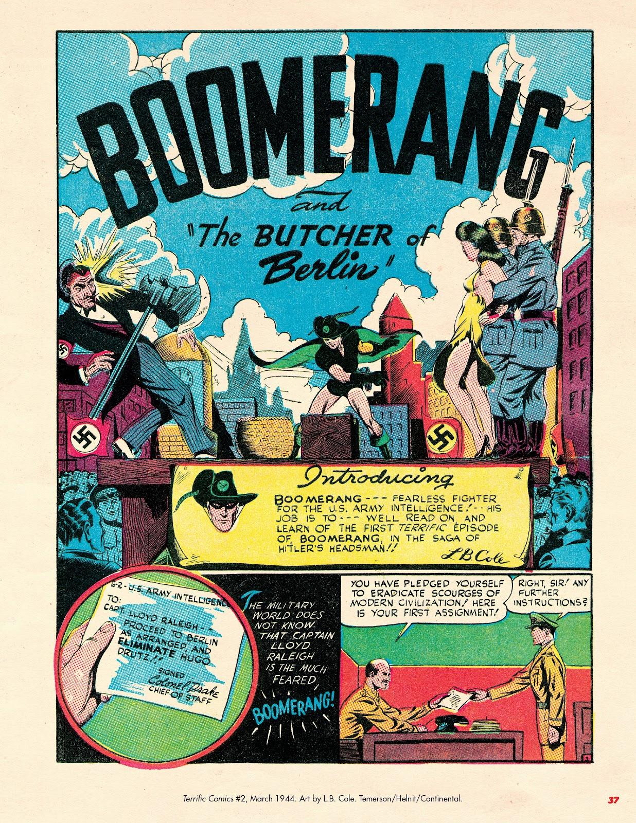 Read online Super Weird Heroes comic -  Issue # TPB 2 (Part 1) - 37