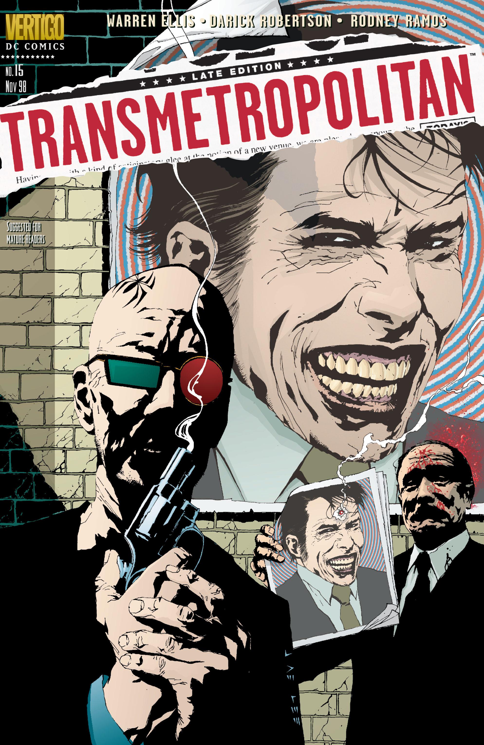 Read online Transmetropolitan comic -  Issue #15 - 1