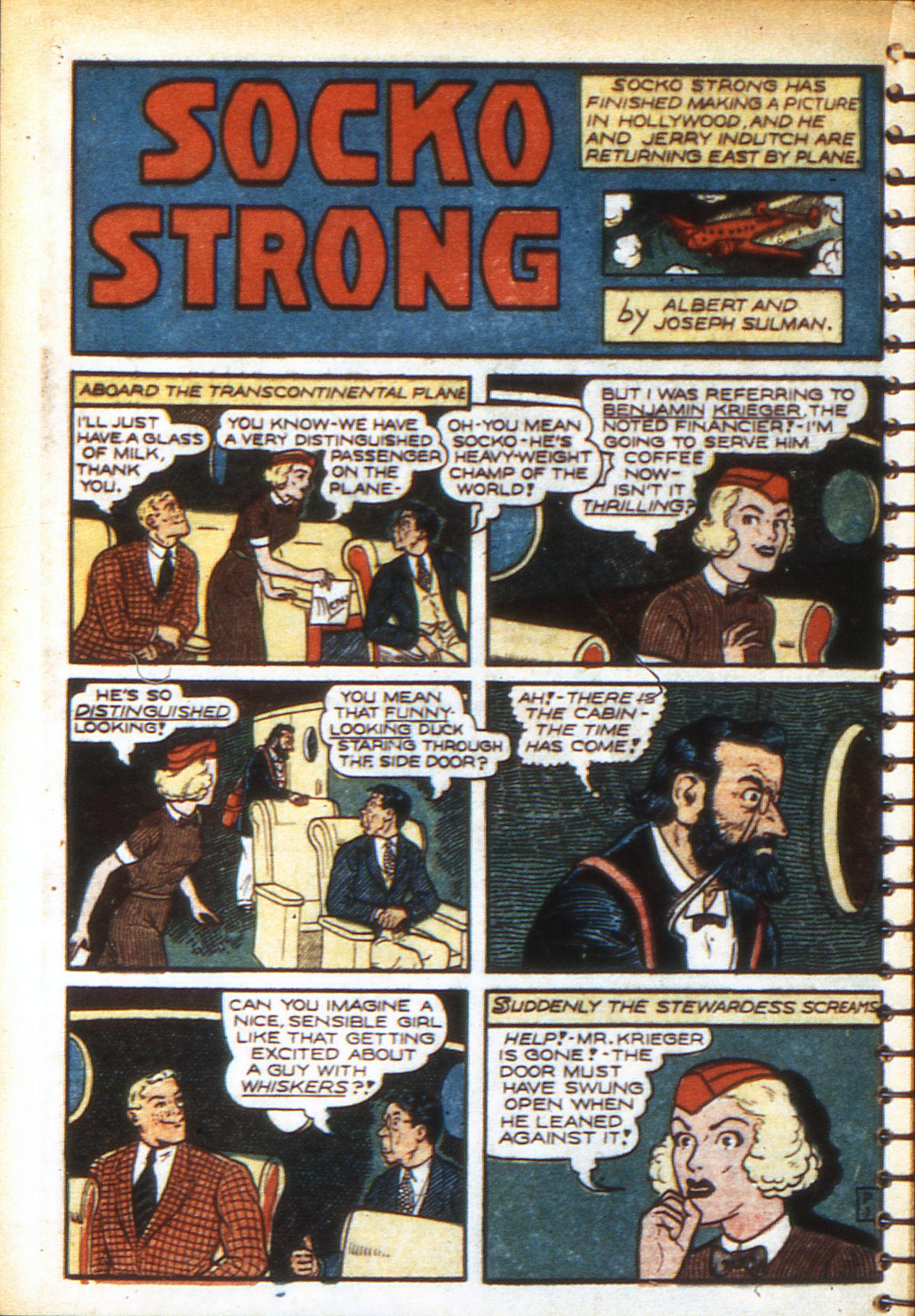Read online Adventure Comics (1938) comic -  Issue #49 - 36