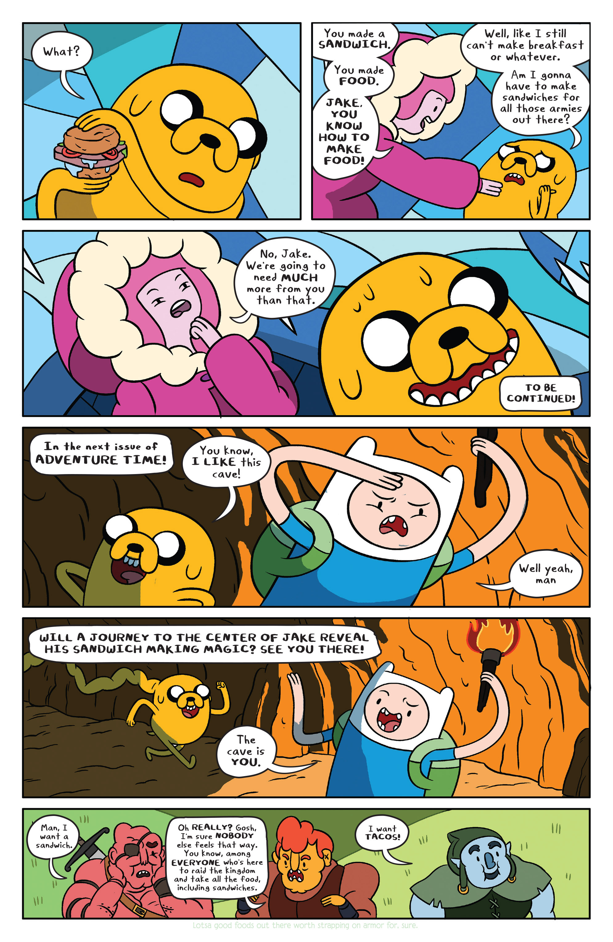 Read online Adventure Time comic -  Issue #37 - 18