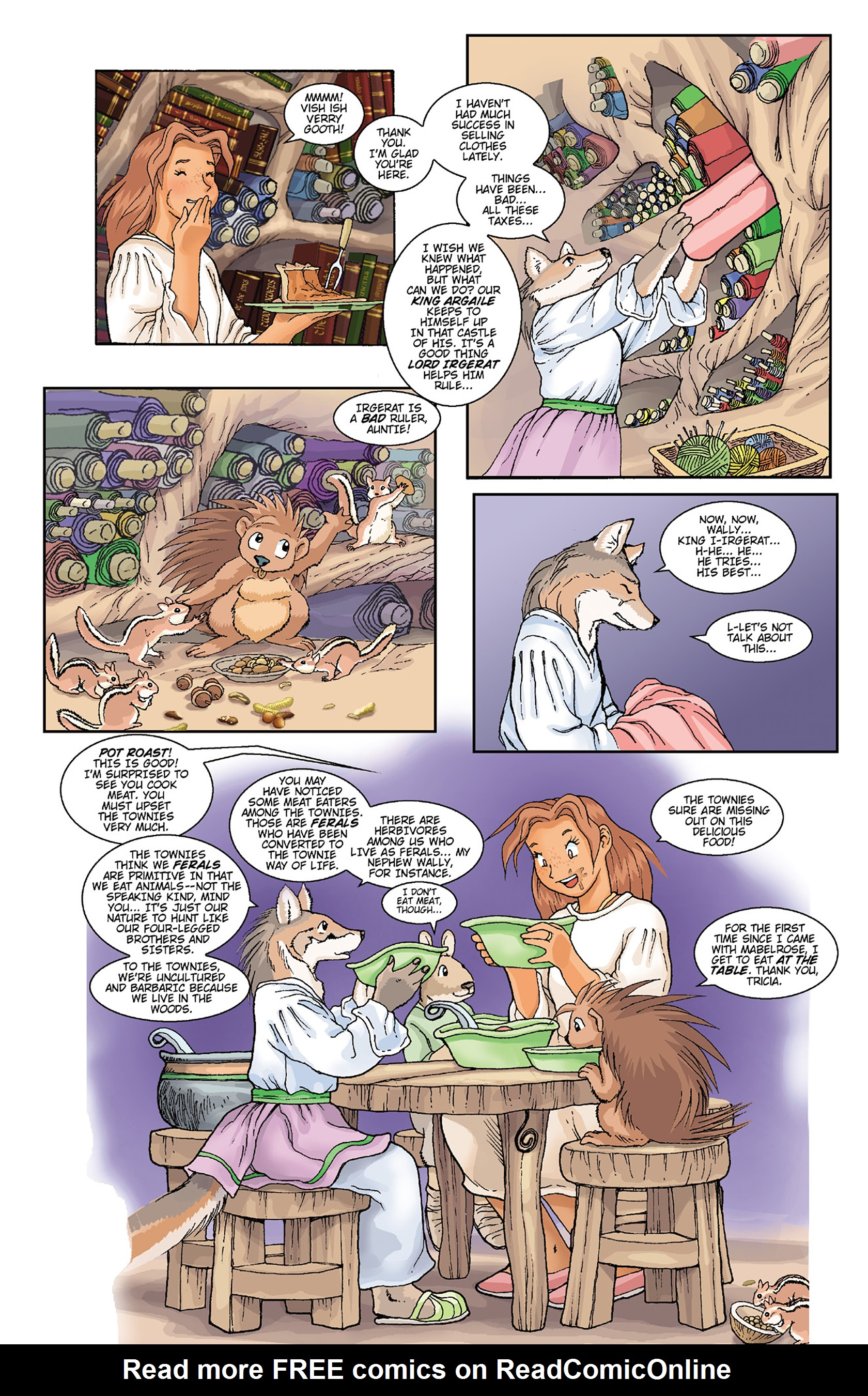 Read online Courageous Princess comic -  Issue # TPB 1 - 179