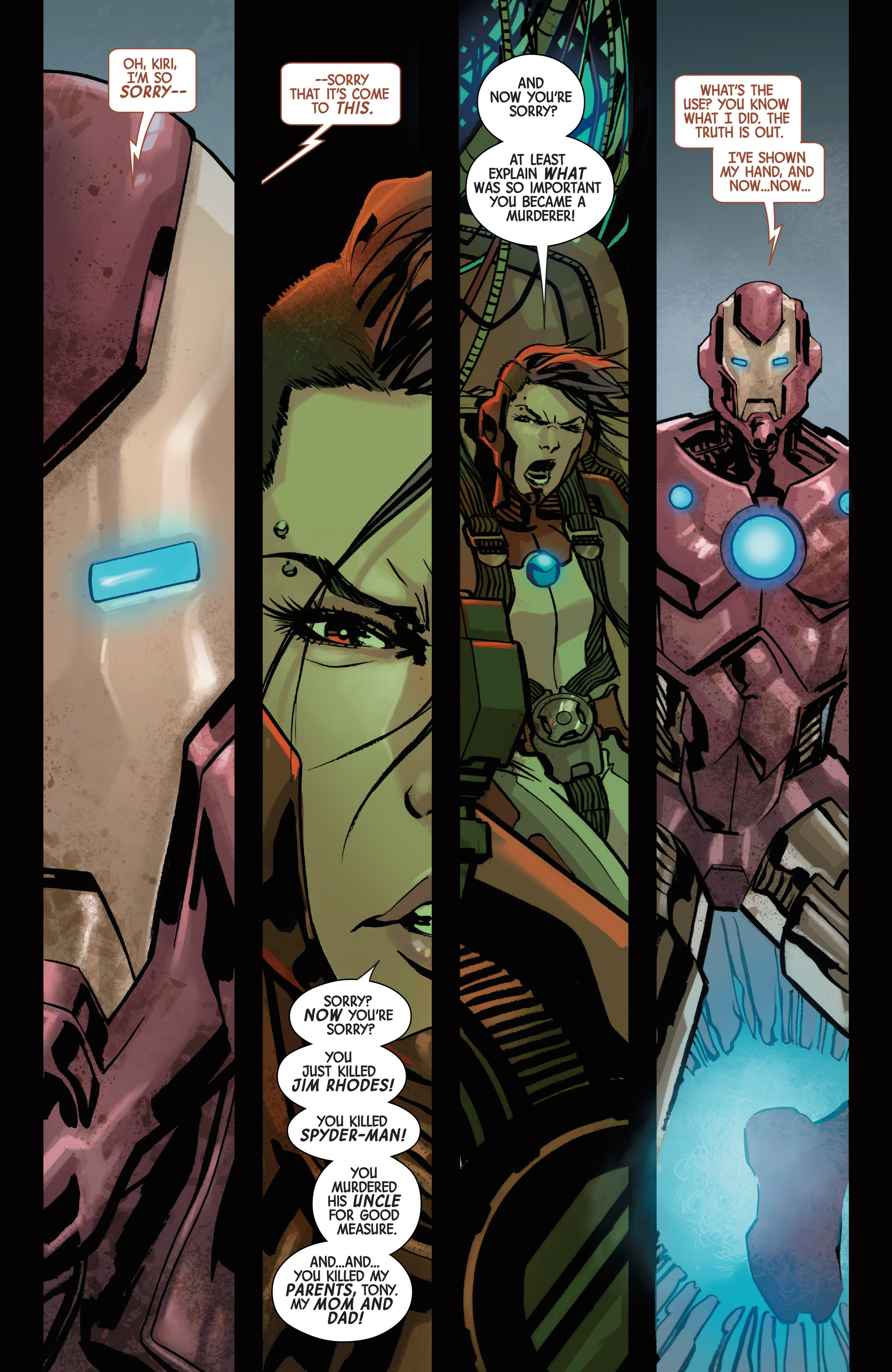 Read online Armor Wars comic -  Issue #5 - 3