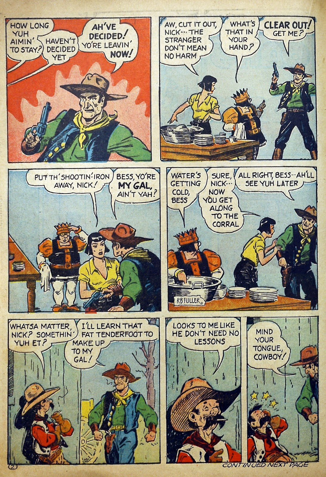 Read online Famous Funnies comic -  Issue #97 - 43