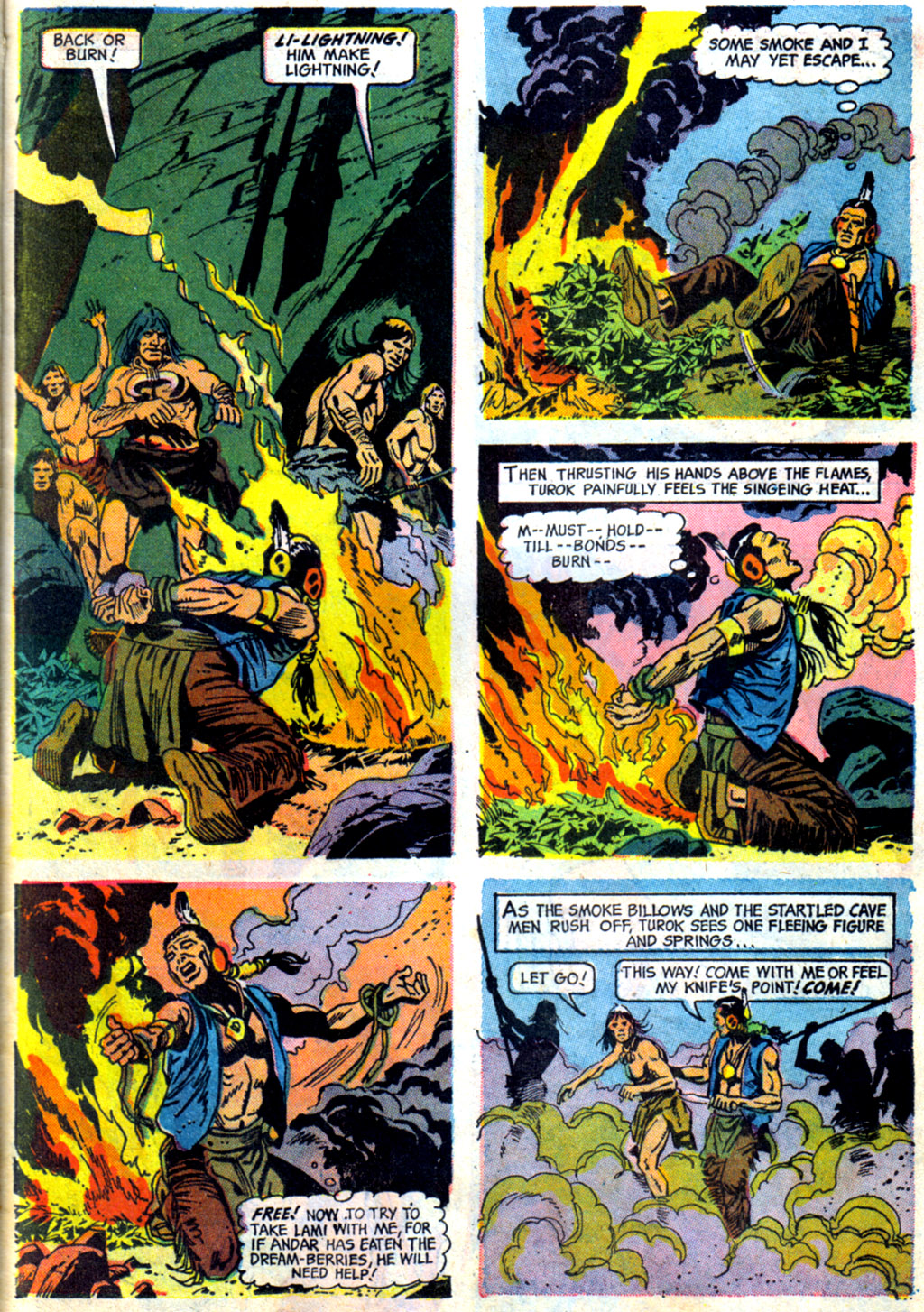 Read online Turok, Son of Stone comic -  Issue #62 - 23