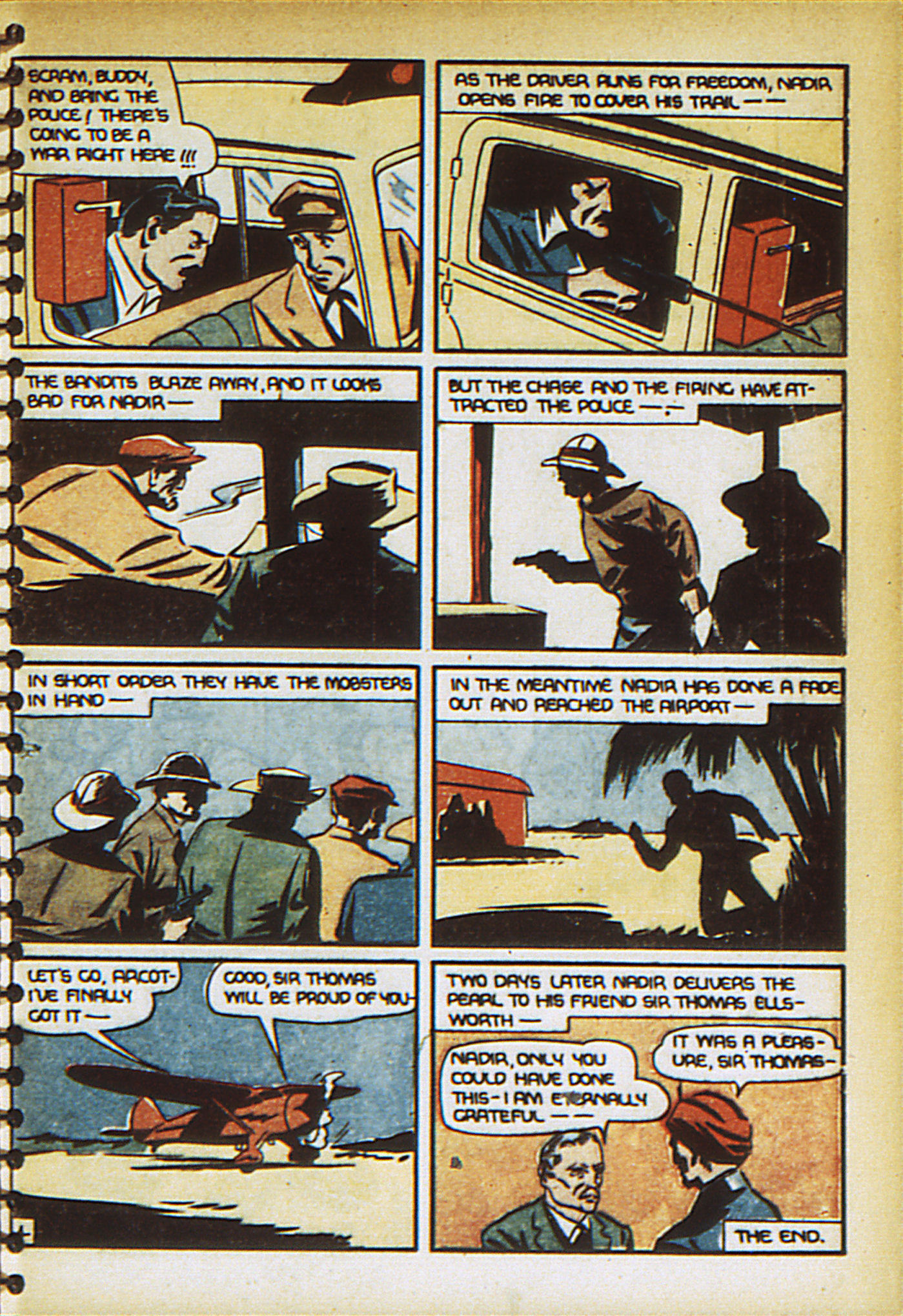Read online Adventure Comics (1938) comic -  Issue #27 - 65