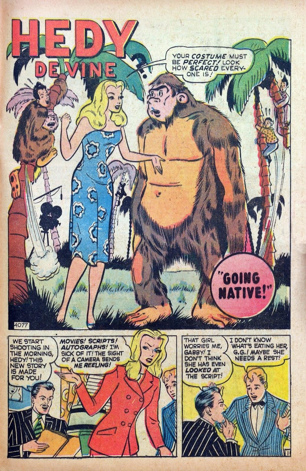 Hedy De Vine Comics issue 31 - Page 43