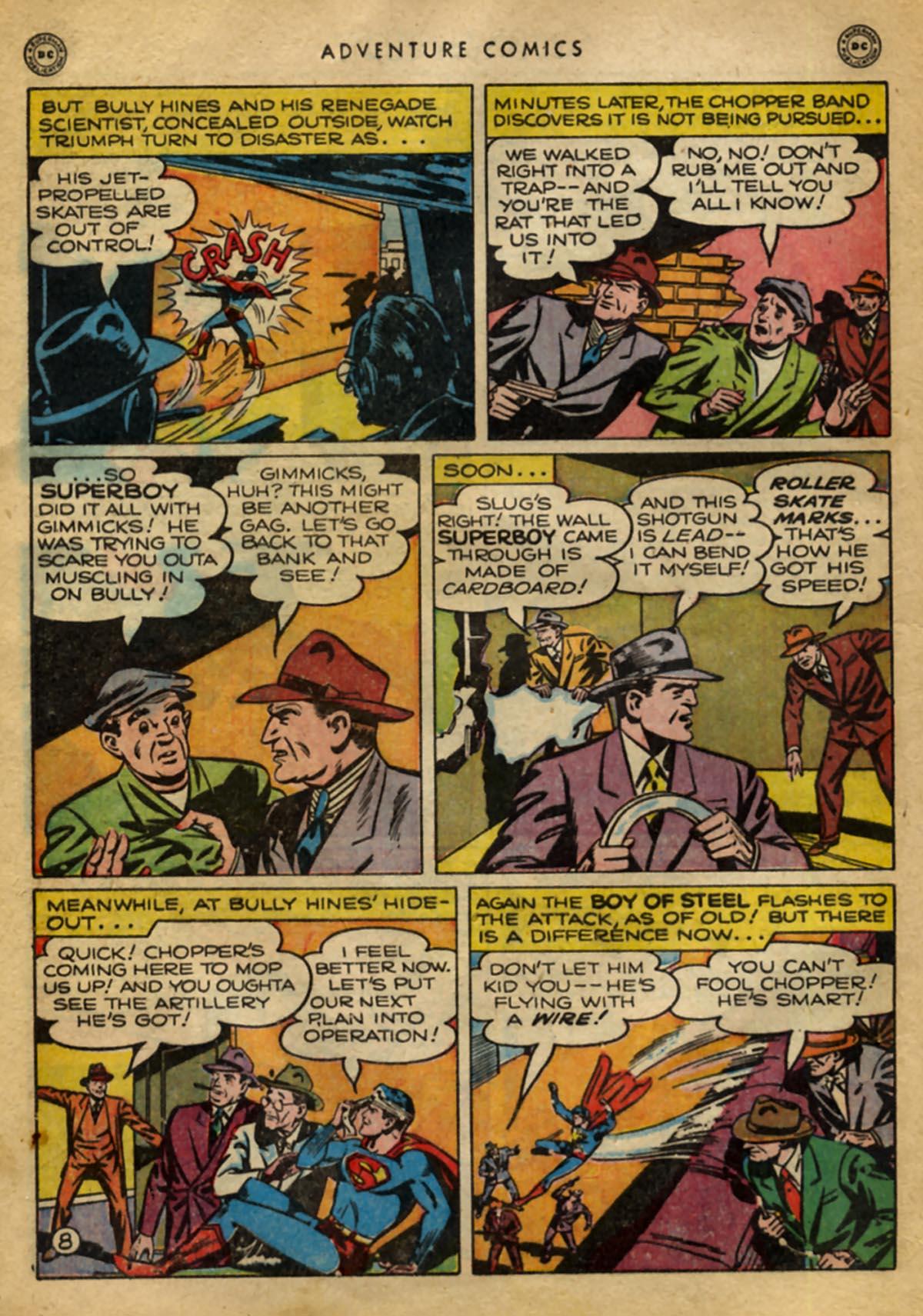 Read online Adventure Comics (1938) comic -  Issue #141 - 10