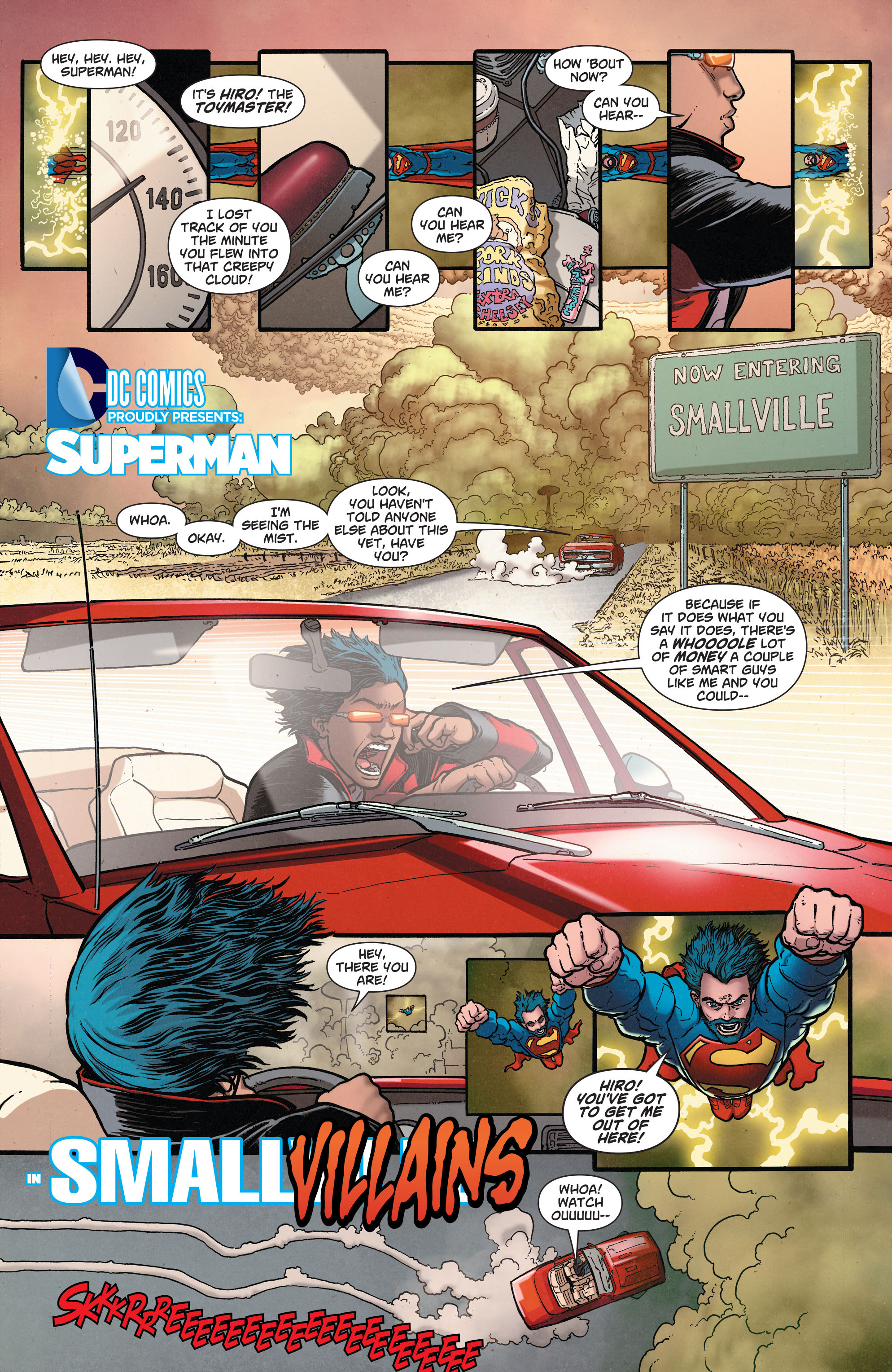 Read online Action Comics (2011) comic -  Issue #37 - 2